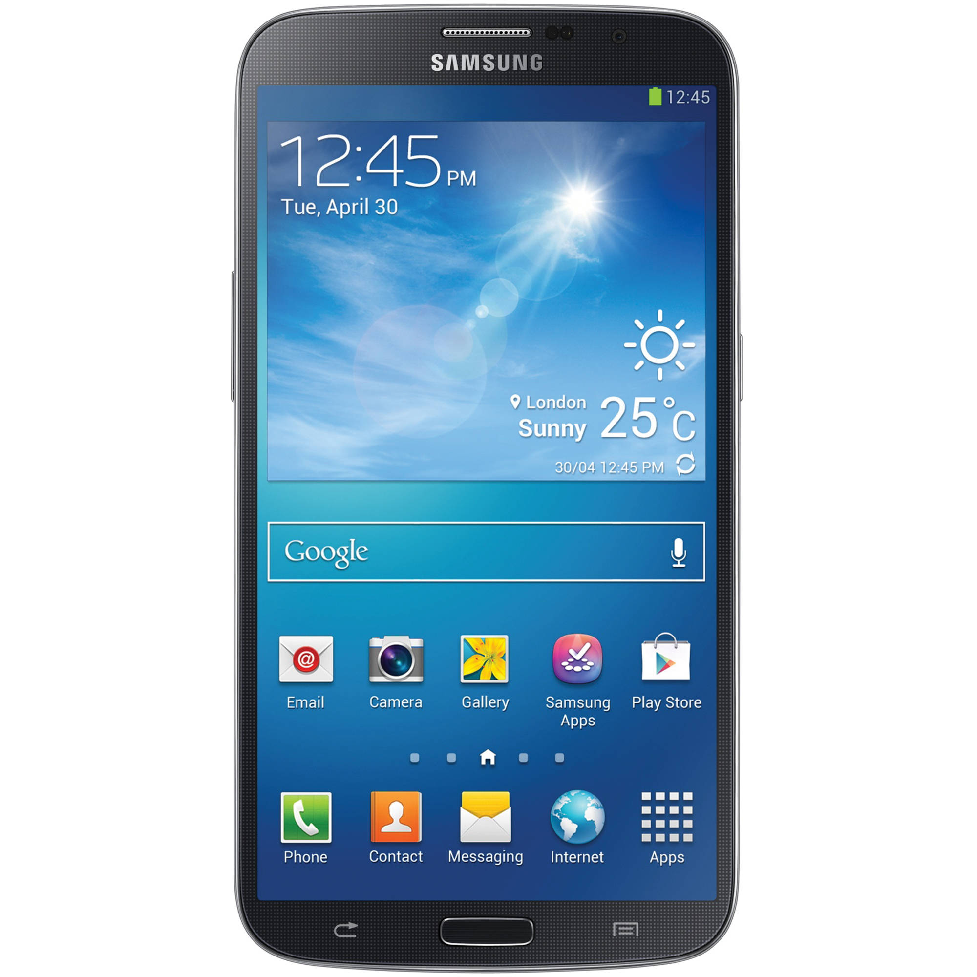 Samsung Galaxy Mega GT-I9152 8GB Smartphone I9152-BLK B&H ...