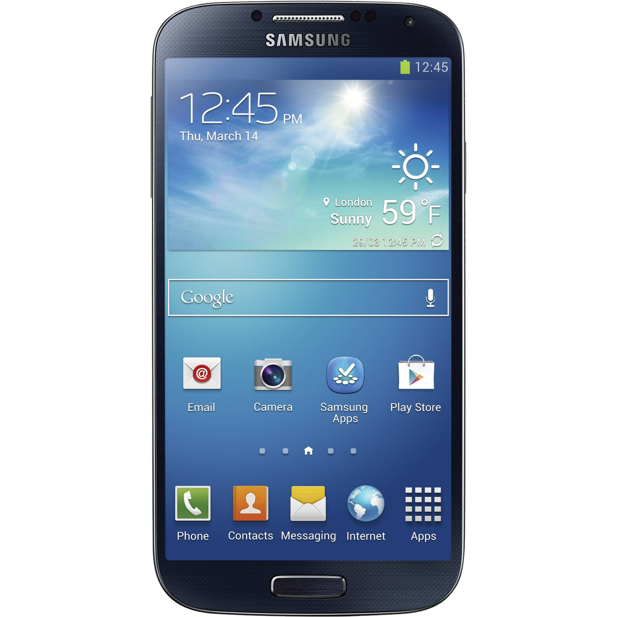 Samsung Galaxy S4 Gt I9500 16gb Smartphone I9500 Black B Amp H