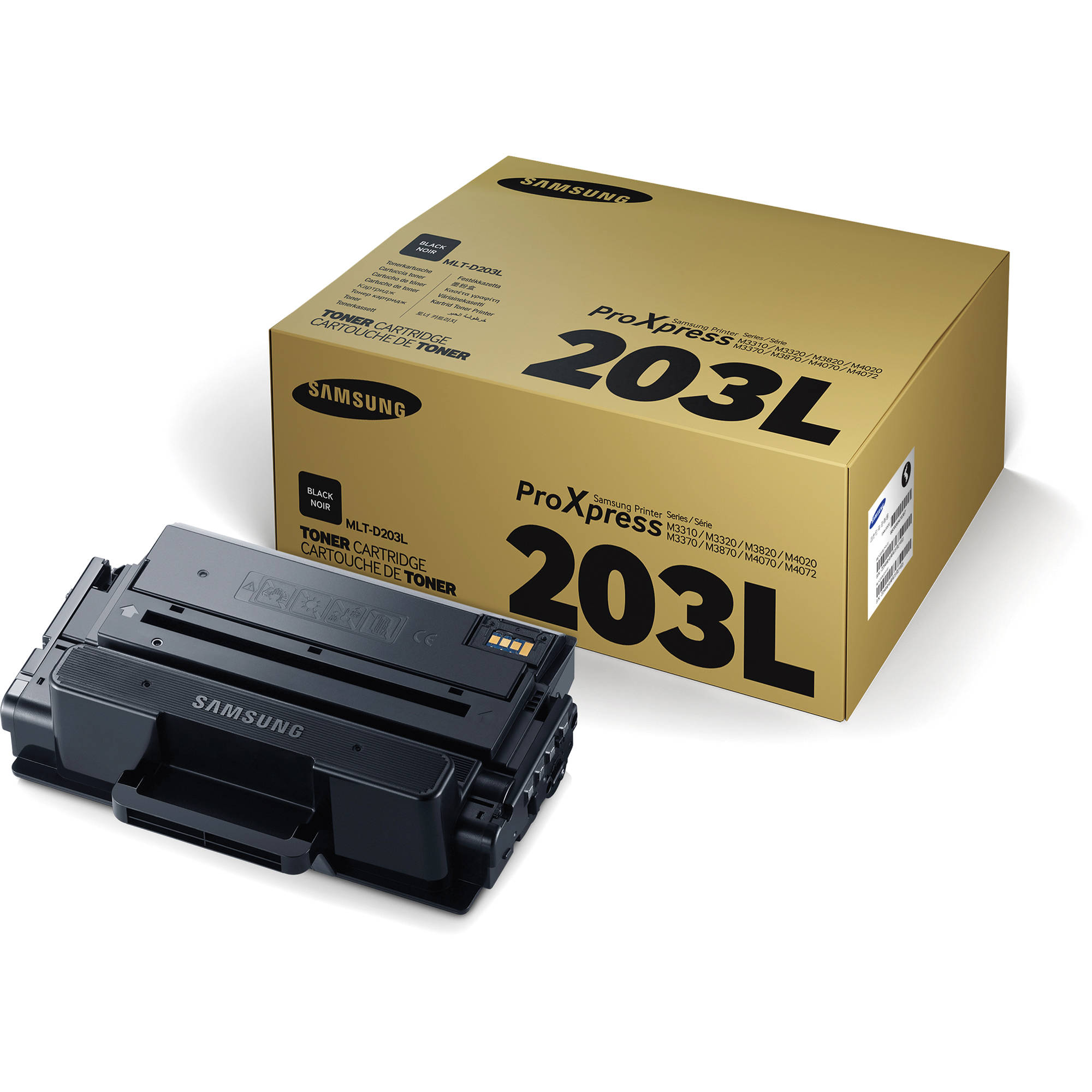 samsung mlt d203l 5k black toner cartridge mlt d203l xaa b h. Black Bedroom Furniture Sets. Home Design Ideas