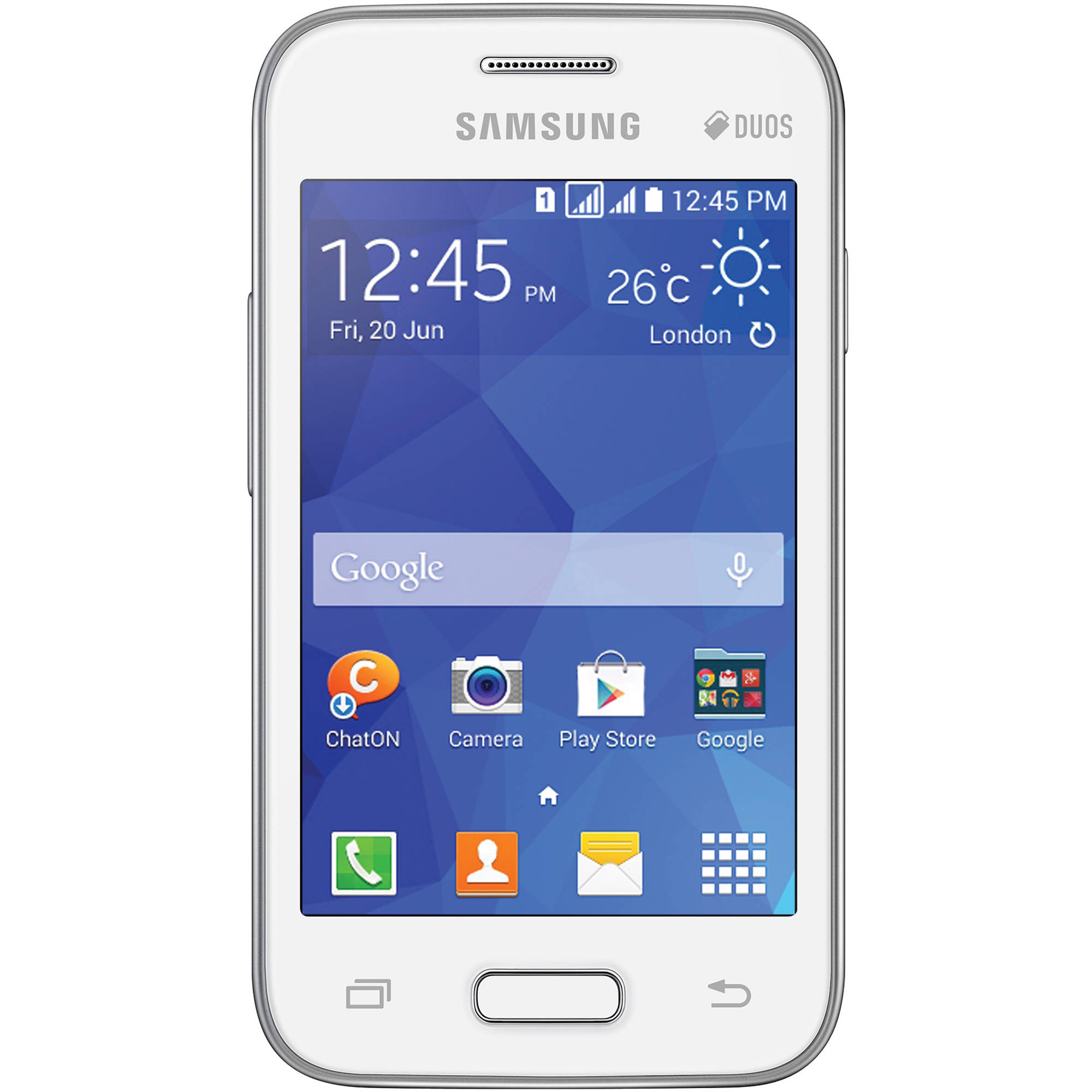 samsung galaxy young 2 duos sm g130 4gb smartphone sm g130m wht rh bhphotovideo com Samsung Galaxy Ace Duos Samsung Galaxy Exhilarate