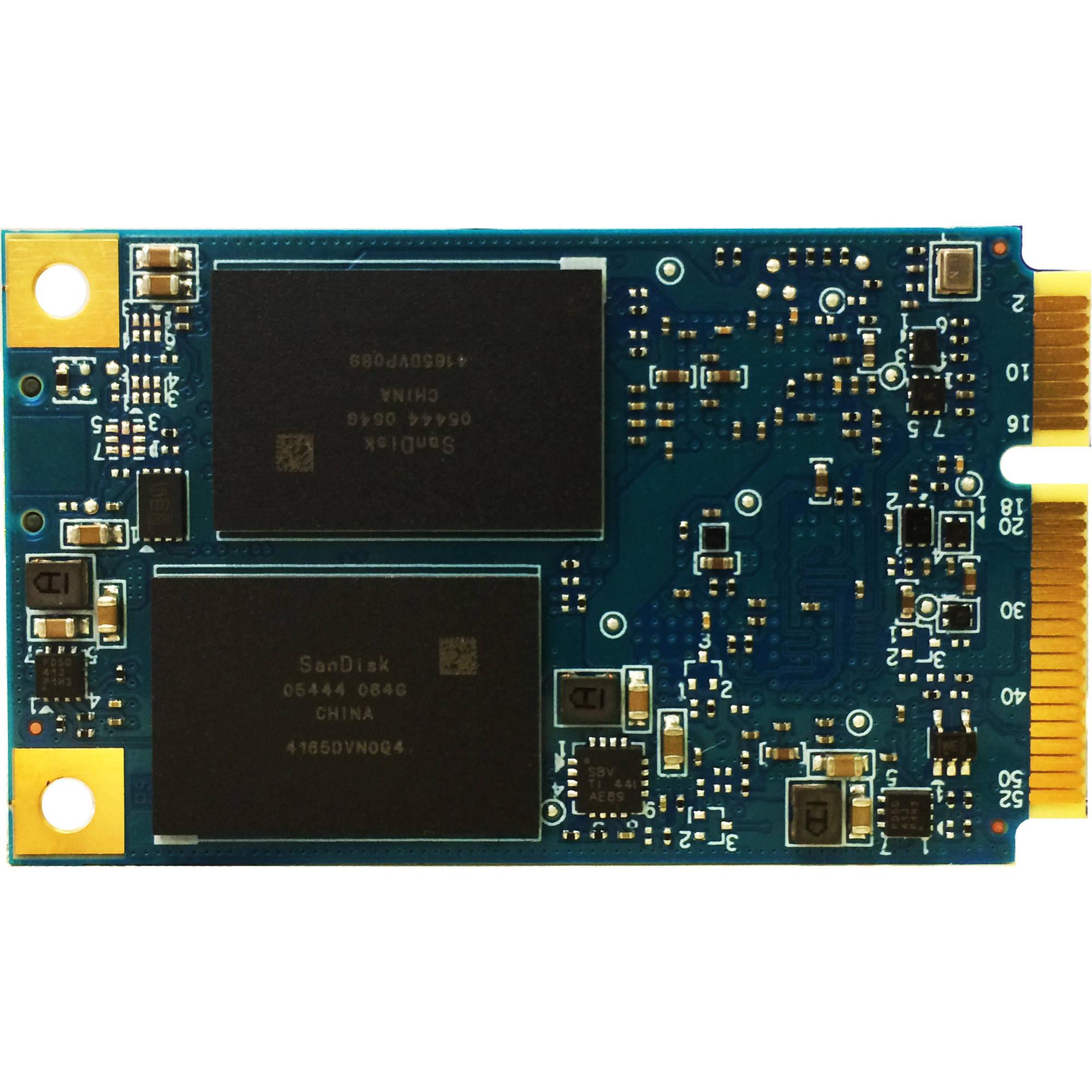 SanDisk 128GB X300 SATA III mSATA Internal SSD SD7SF6S ...