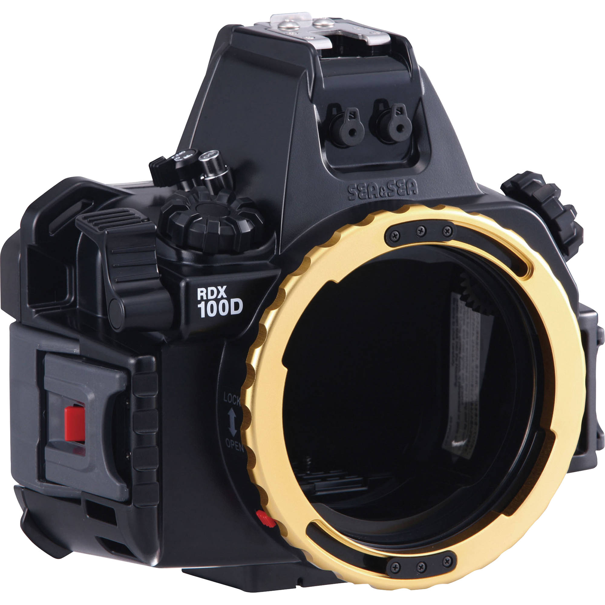 sea sea rdx 100d underwater housing for canon eos ss. Black Bedroom Furniture Sets. Home Design Ideas