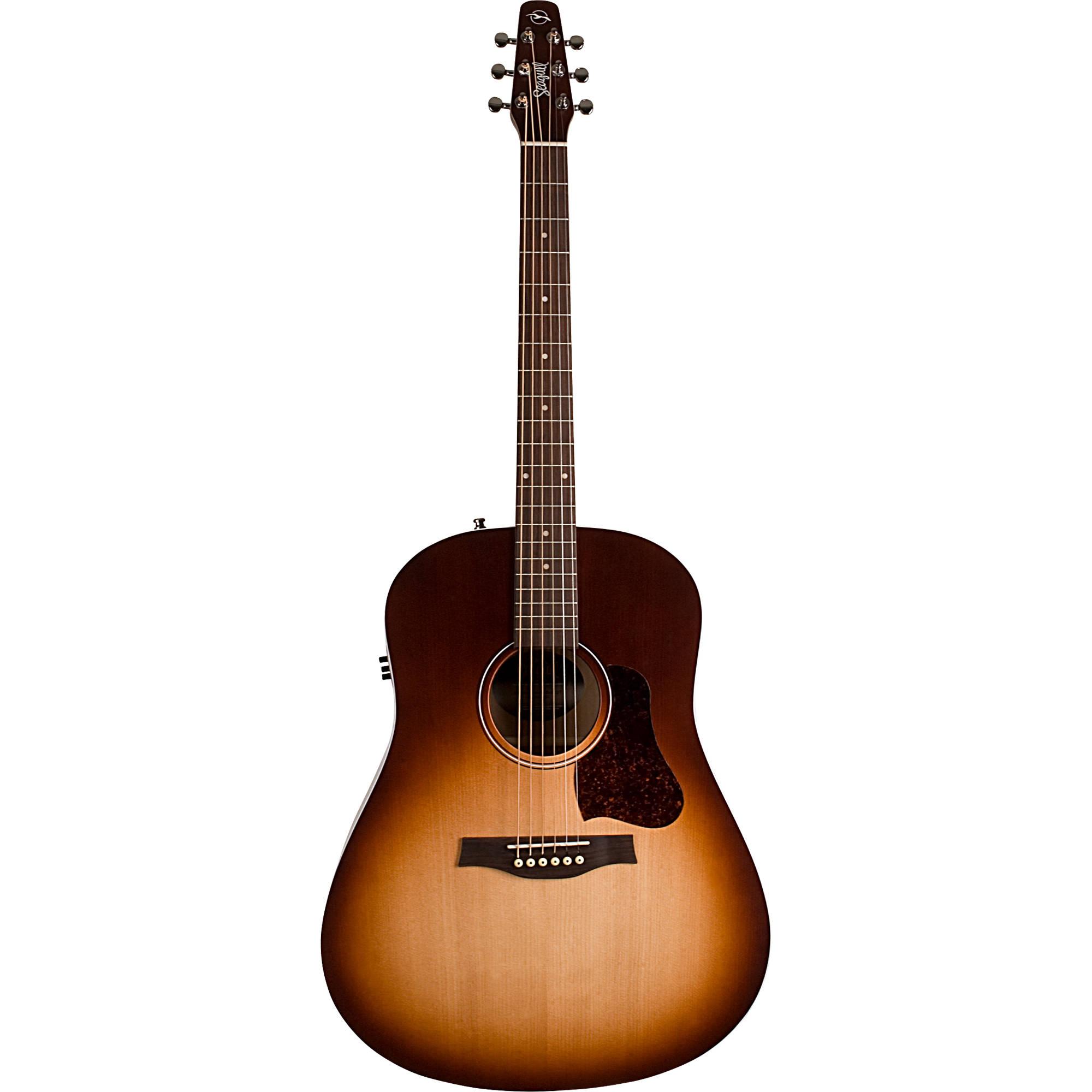 Seagull Guitars Entourage Rustic Acoustic Electric Guitar Autumn Burst