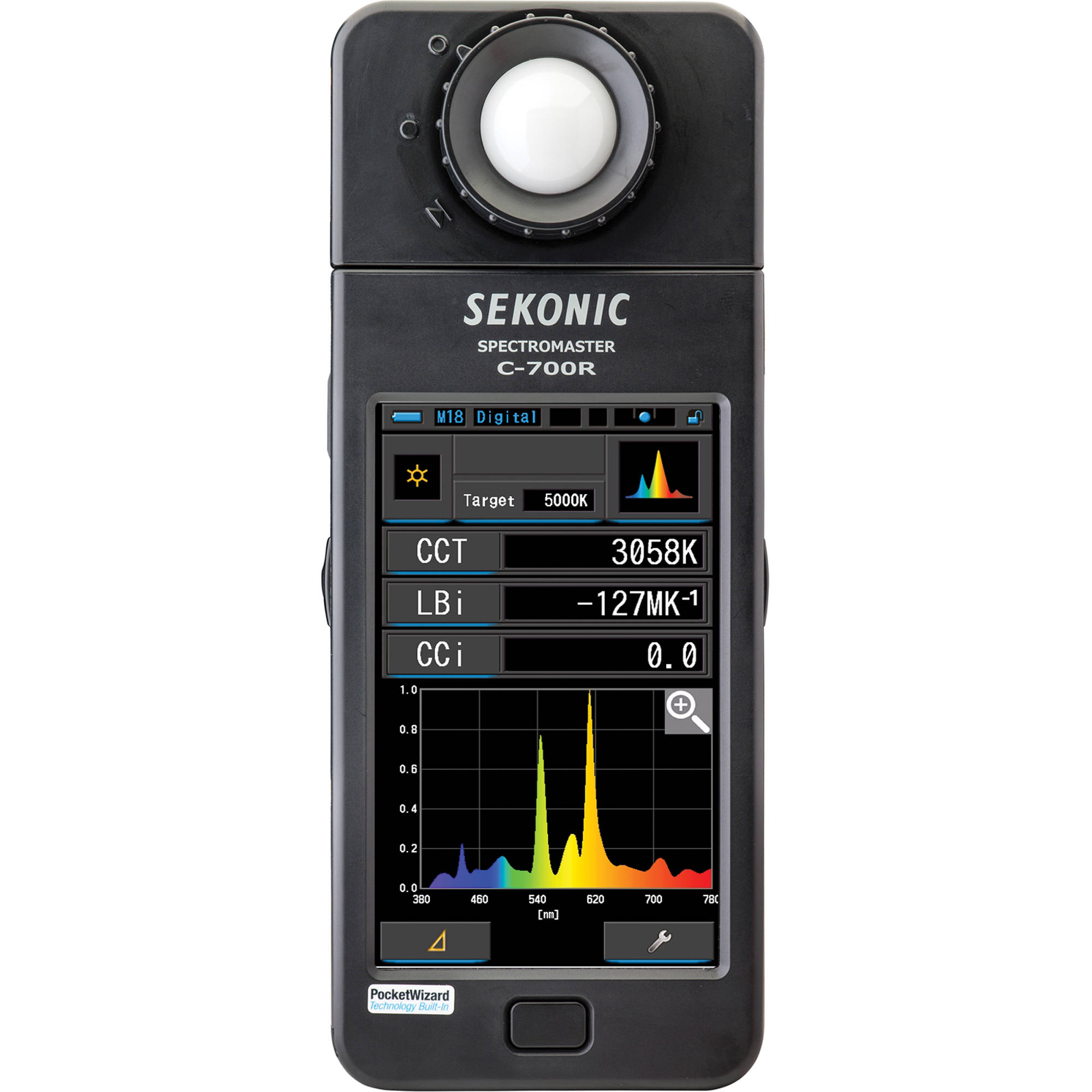 Sekonic C-700R SpectroMaster Color Meter with Wireless Flash