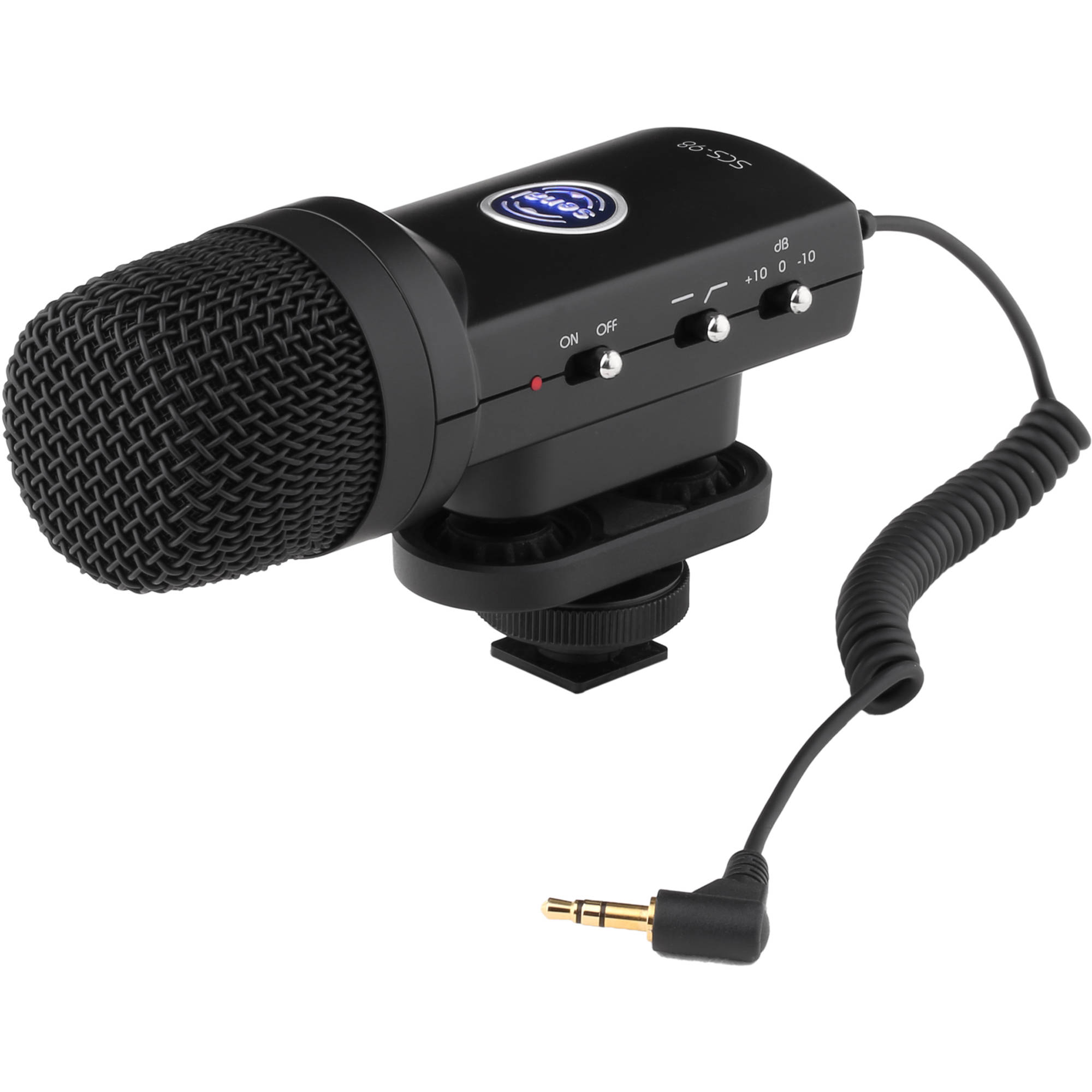 Dslr Microphones Bh Photo Video Multidirectional Microphone Amplifier Senal Scs 98 Stereo
