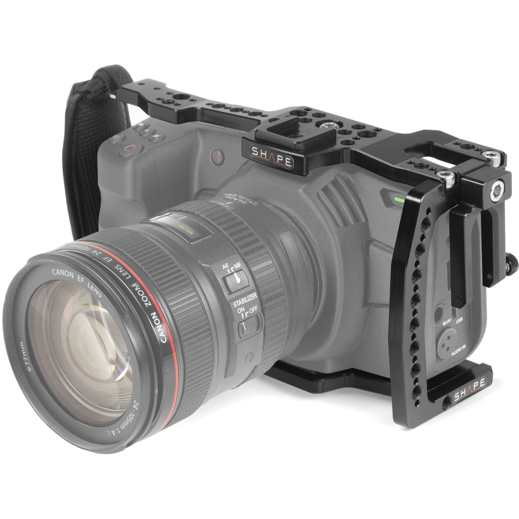 Shape Cage For Blackmagic Pocket Cinema Camera 6k And 4k Cbm4k