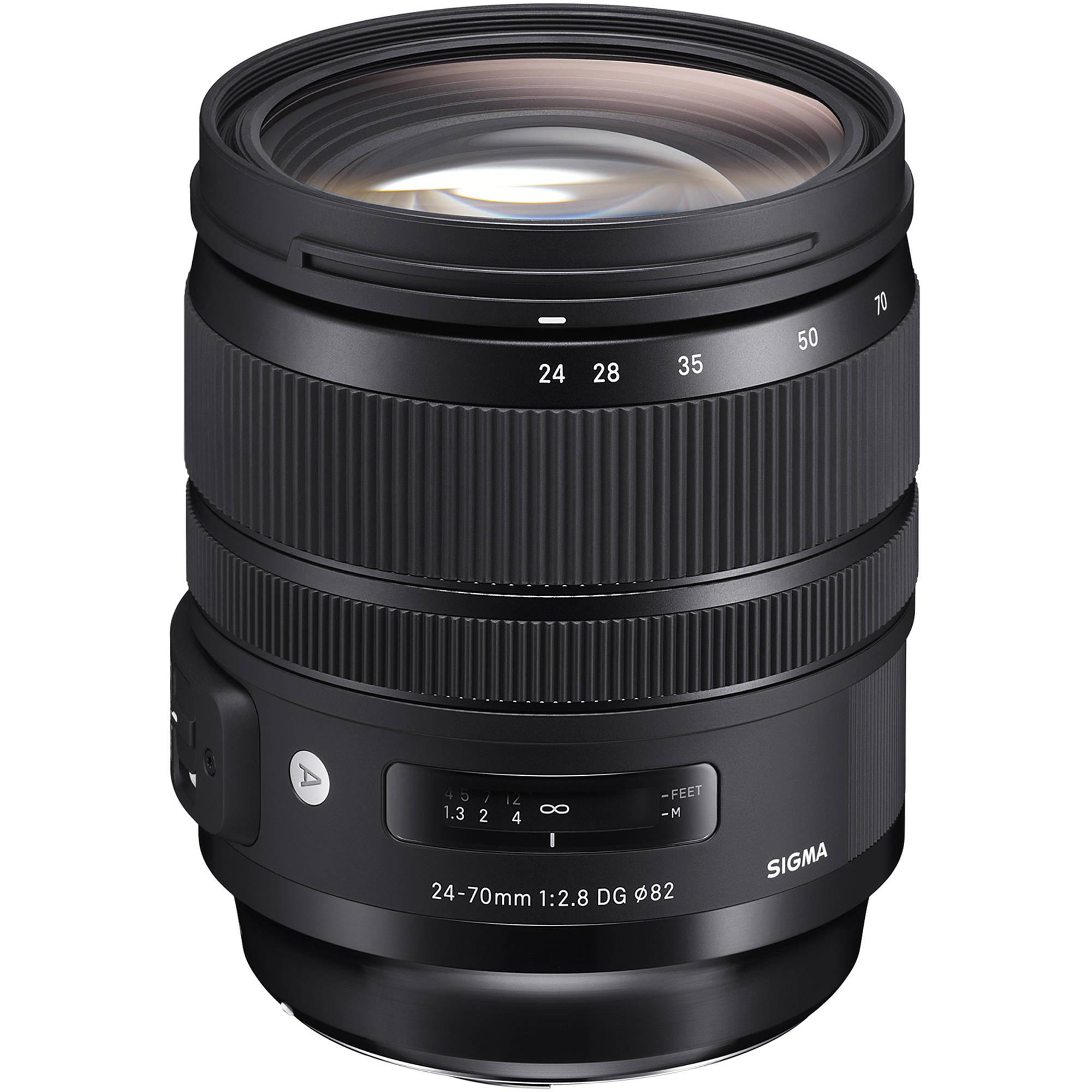 Sigma 24-70mm f/2.8 DG OS HSM Art Lens for Canon EF 576954 B&H