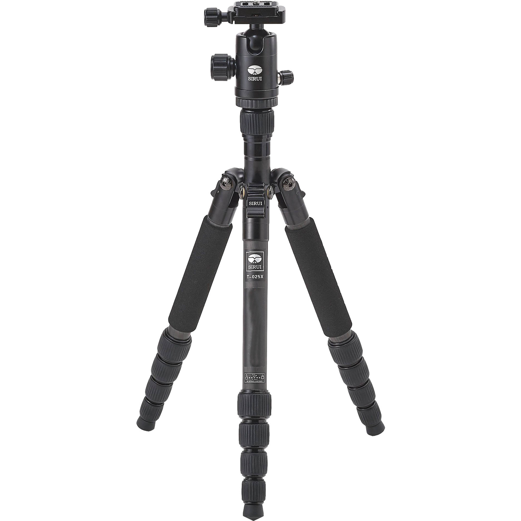 Sirui T-025X Carbon Fiber Tripod with C-10S Ball Head SUT025X