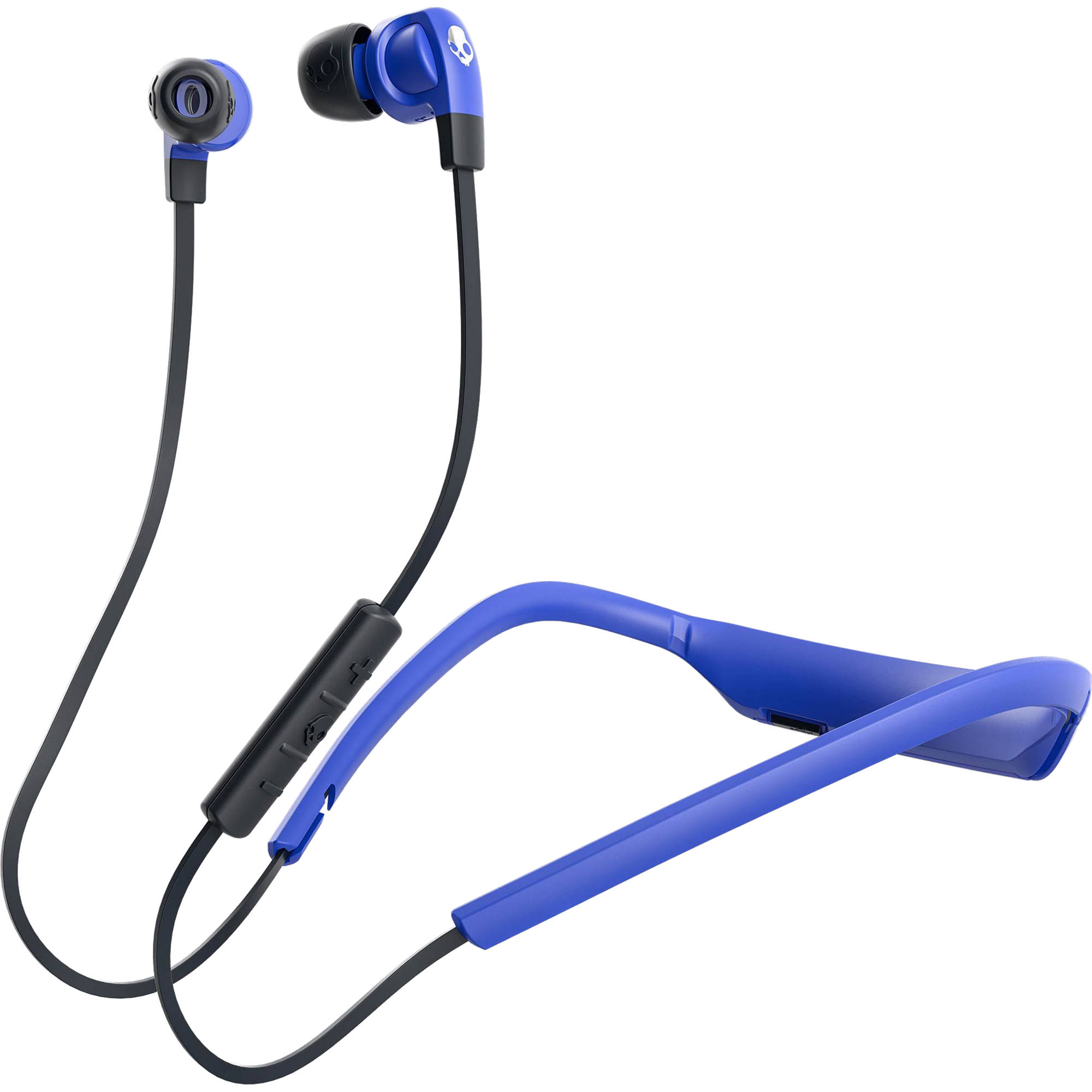 083cdf59c70 Skullcandy Smokin  Buds 2 Wireless Bluetooth In-Ear Headphones (Street Blue)