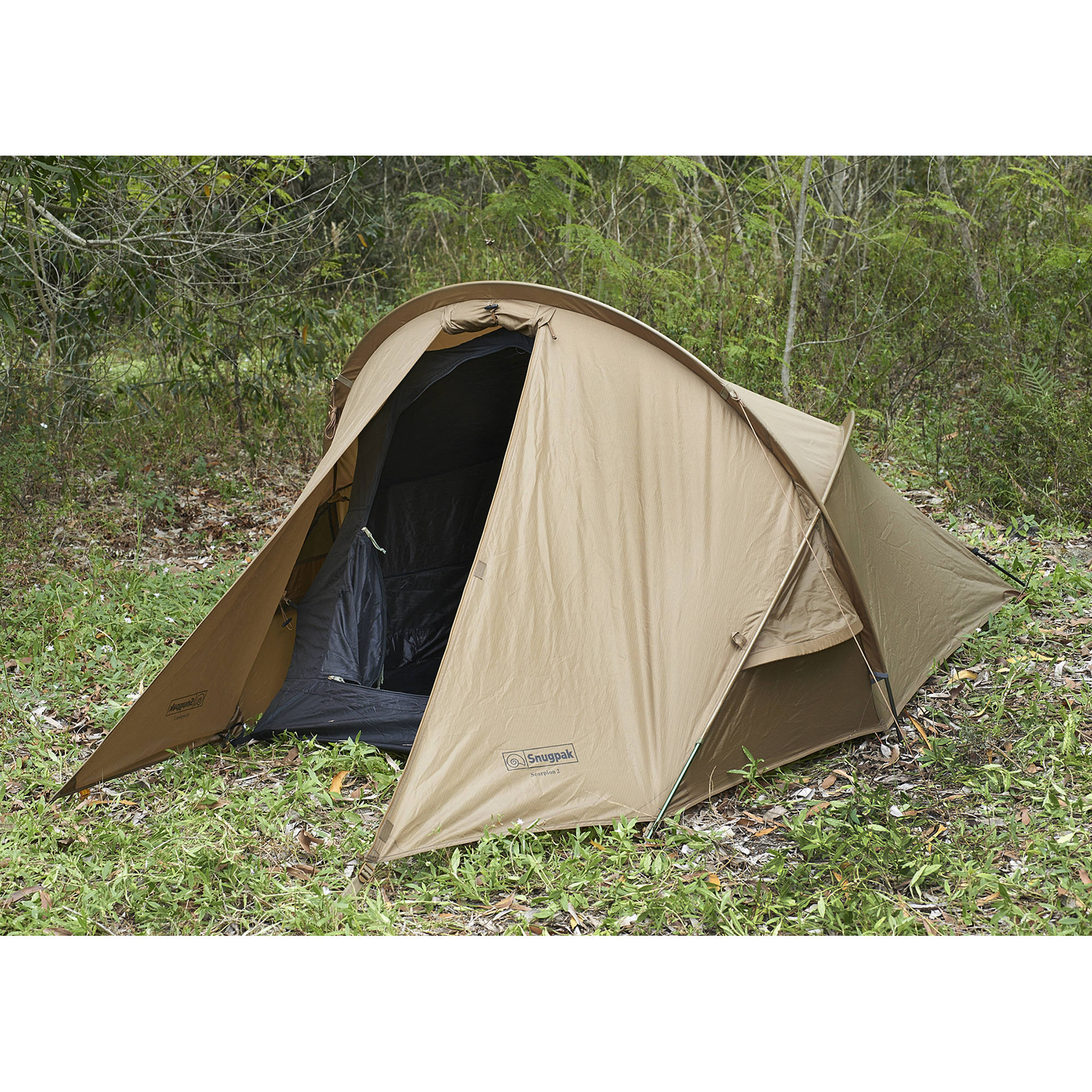 Snugpak Scorpion 2-Person Tent (Coyote)  sc 1 st  Bu0026H & Snugpak Scorpion 2-Person Tent (Coyote) 92875 Bu0026H Photo Video