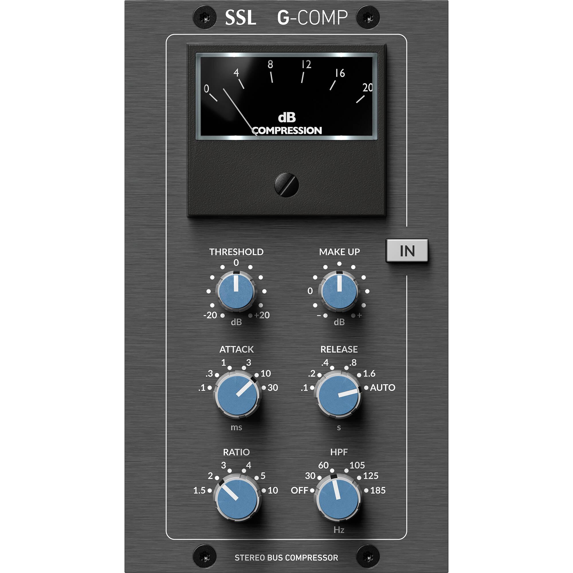 Solid State Logic Ssl Stereo Bus Compressor Module