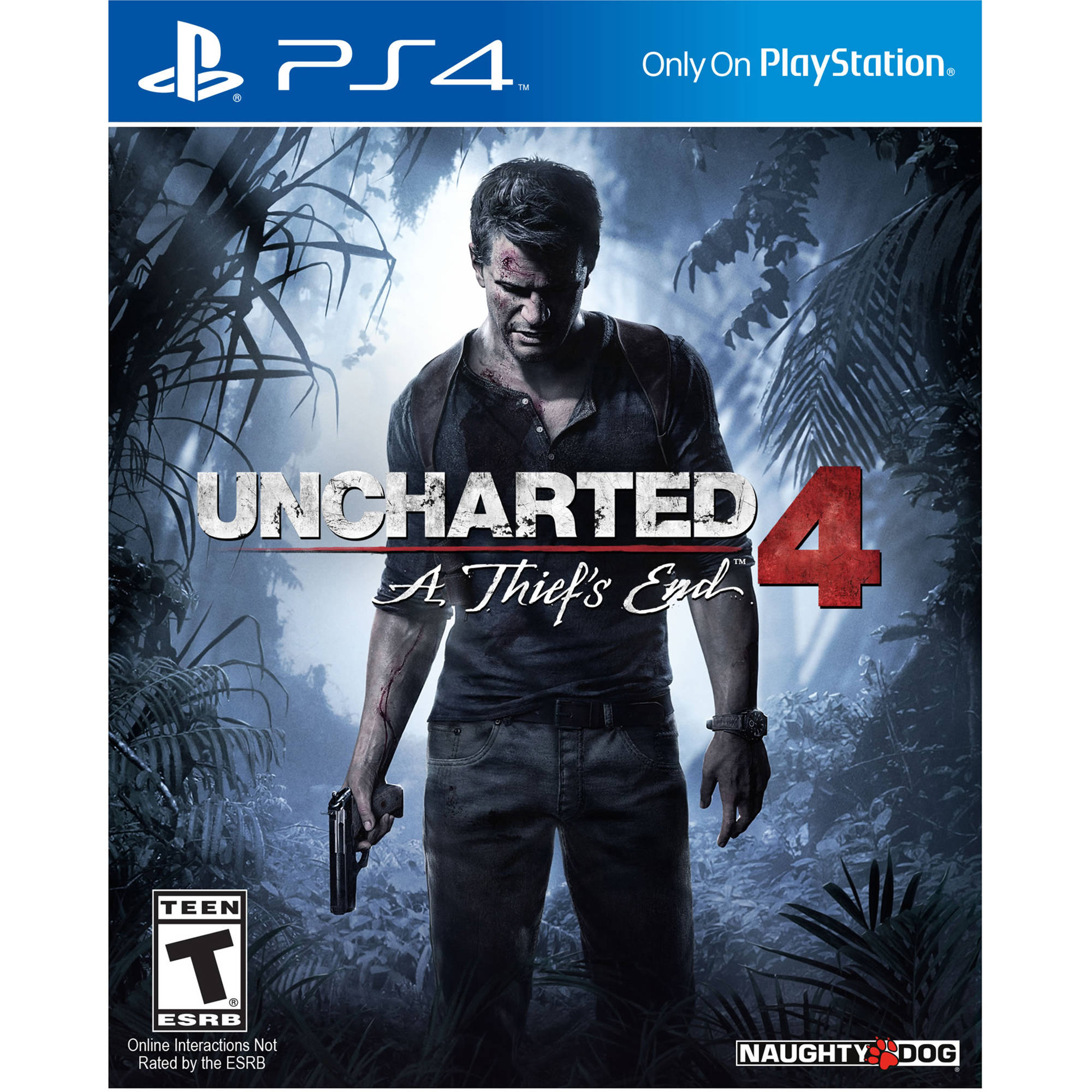 Sony Uncharted 4: A Thief's End (PS4) 10007 B&H Photo Video