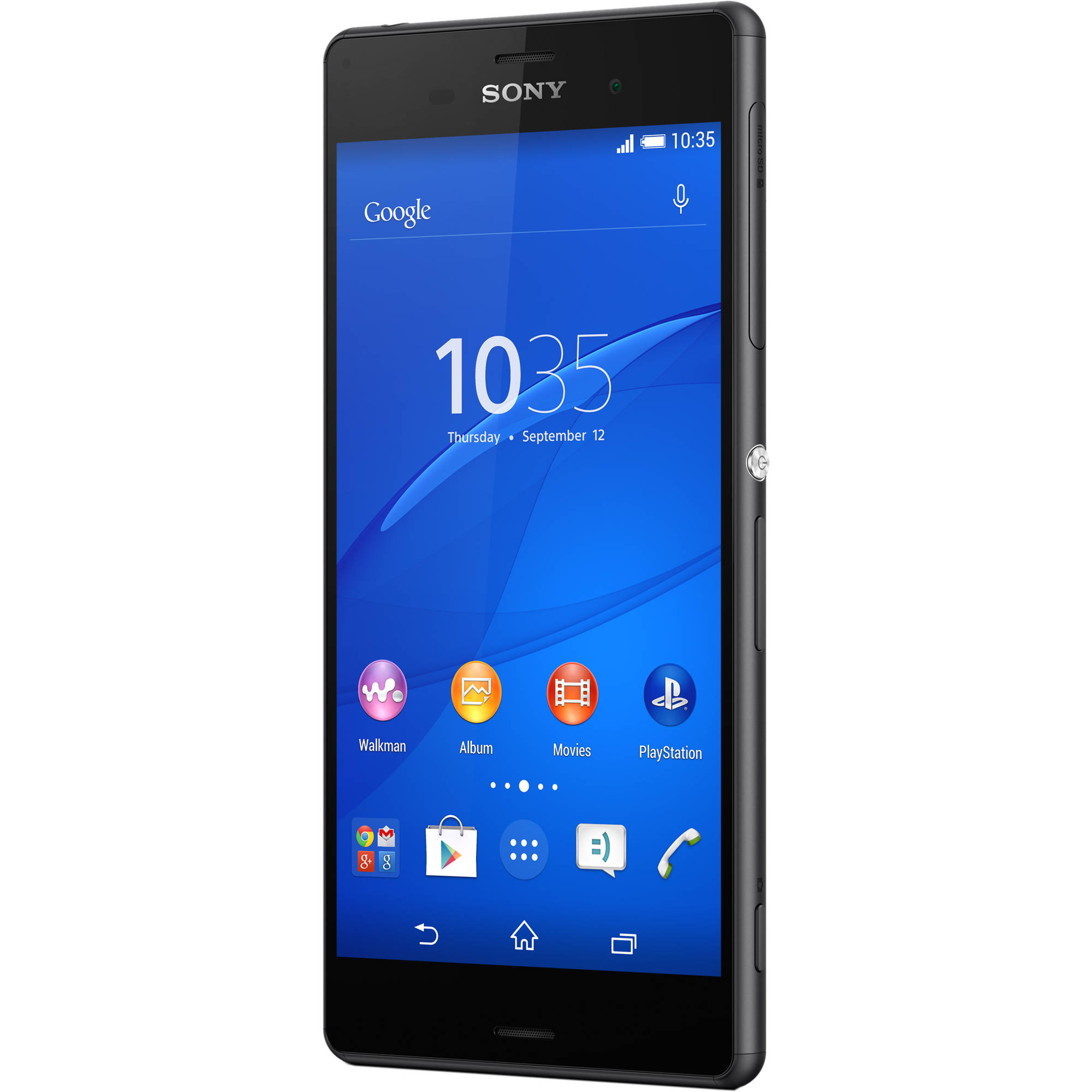 these trimmed-down sony xperia z3 d6603 16gb smartphone dropped phone