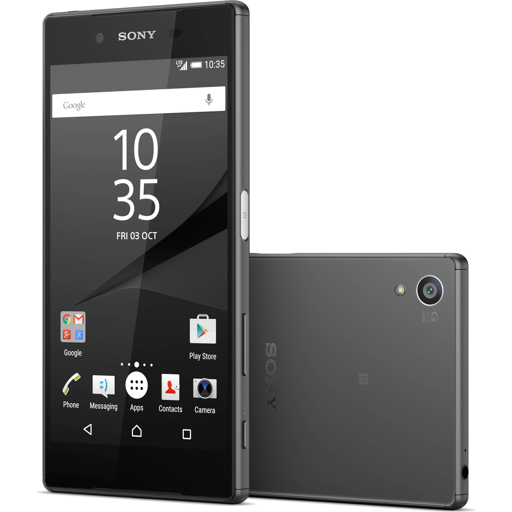Sony xperia z5 e6603 32gb smartphone 1298 5589 bh photo video sony xperia z5 e6603 32gb smartphone unlocked graphite black ccuart Image collections