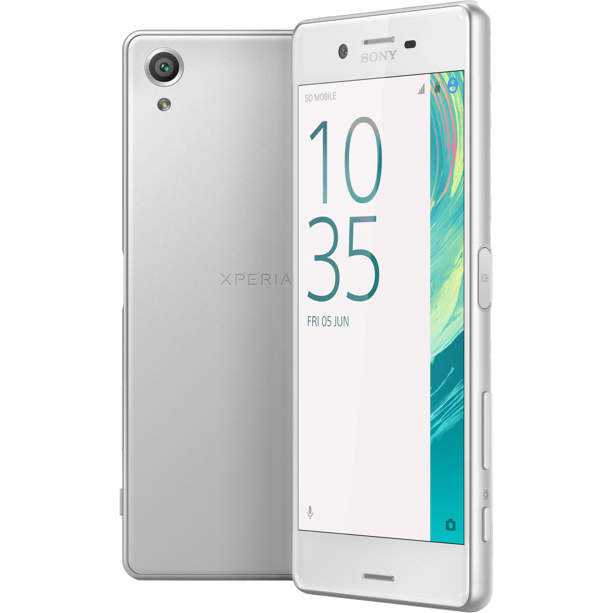sony xperia x f5121 32gb smartphone unlocked white 1302 5763. Black Bedroom Furniture Sets. Home Design Ideas