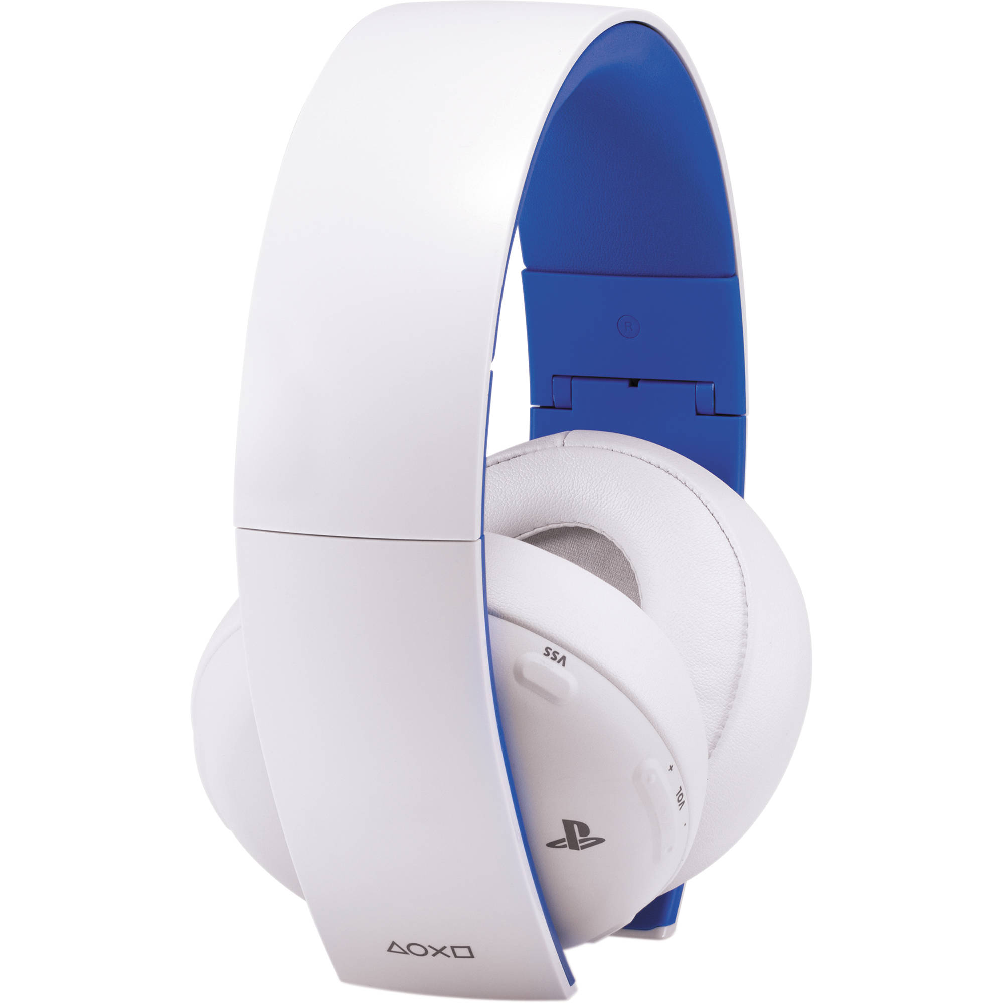 sony playstation gold wireless headset white 3000438 b h. Black Bedroom Furniture Sets. Home Design Ideas