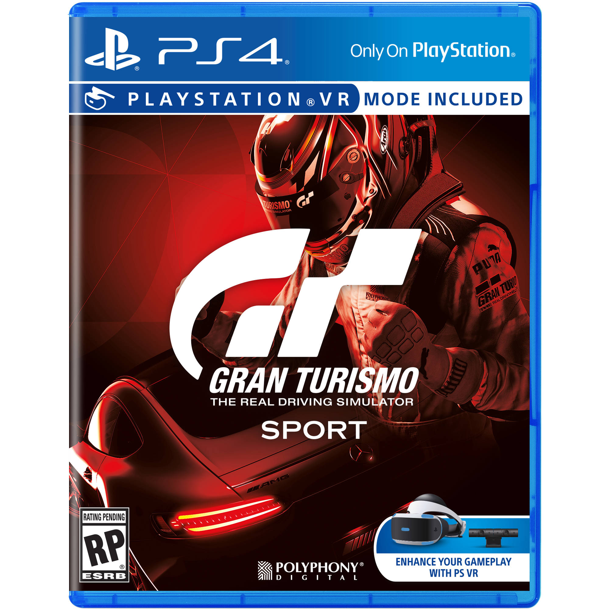 sony gran turismo sport ps4 3001105 b h photo video. Black Bedroom Furniture Sets. Home Design Ideas