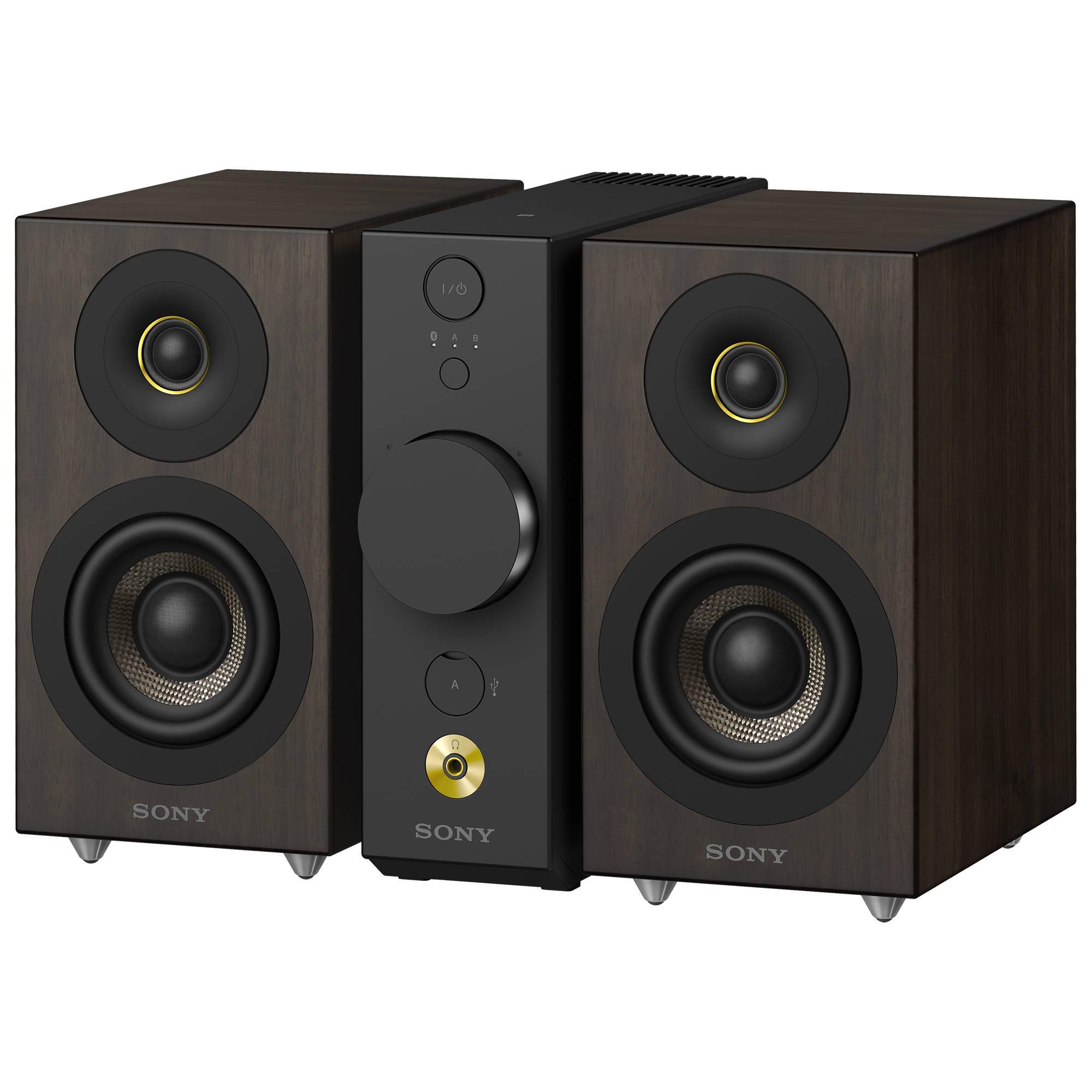 sony cas 1 high resolution desktop audio system cas 1 b h. Black Bedroom Furniture Sets. Home Design Ideas