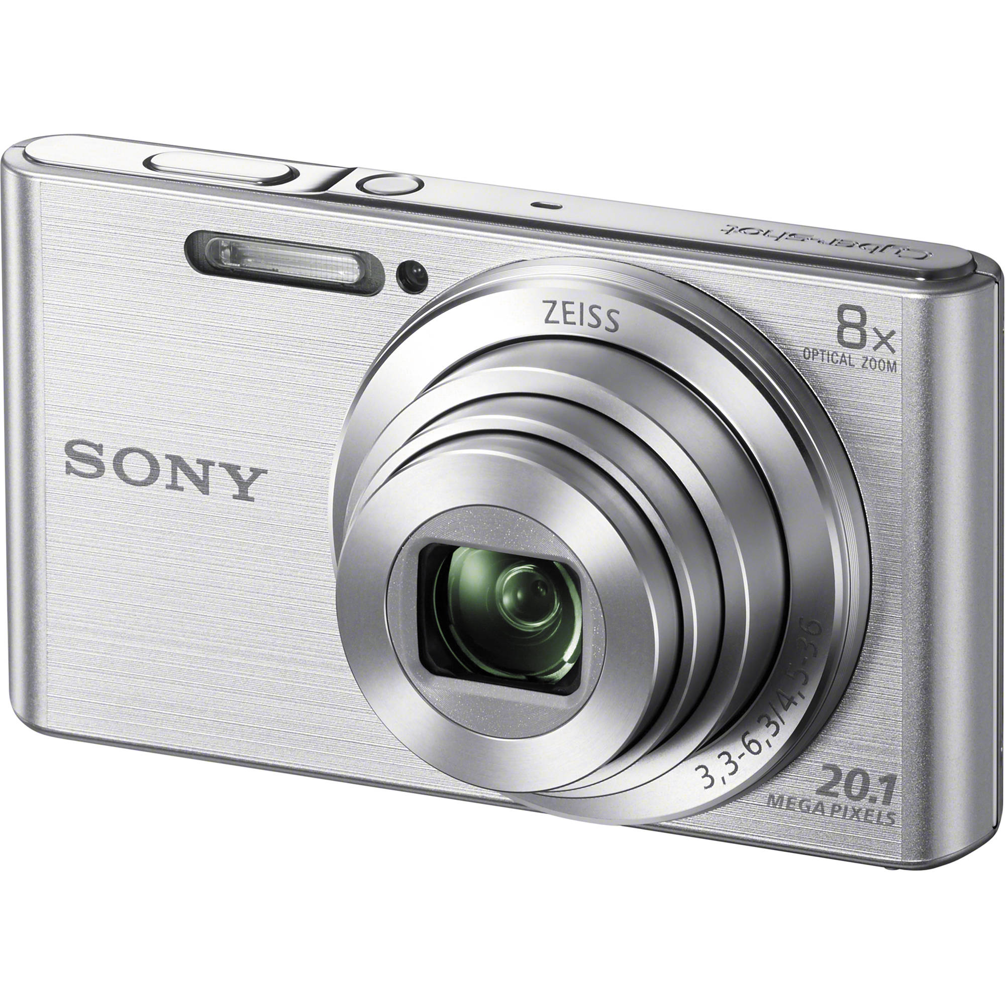 Sony DSC-W830 Digital Camera (Silver) DSC-W830 B&H Photo Video