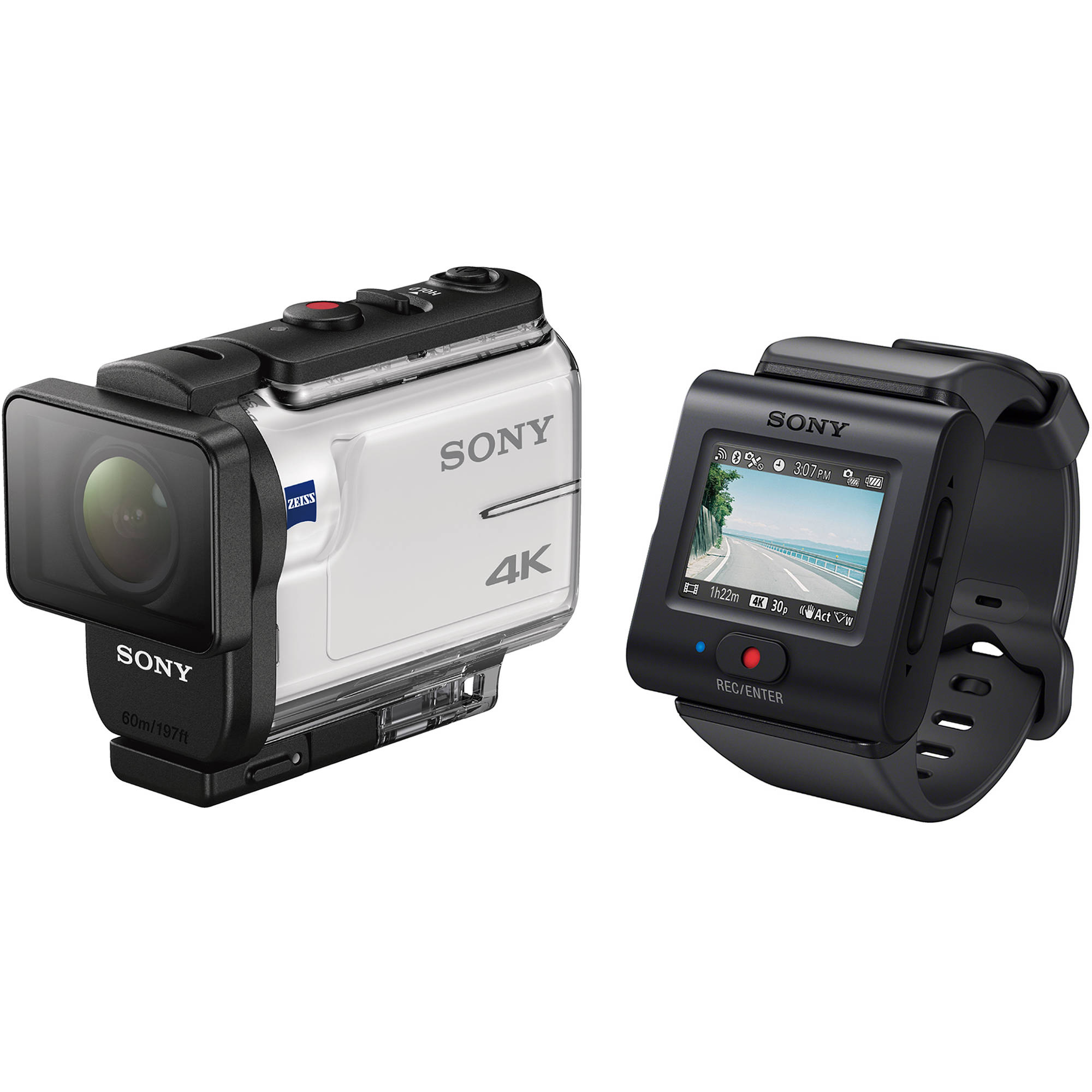 Sony FDR-X3000 Action Camera with Live-View Remote FDRX3000R/W