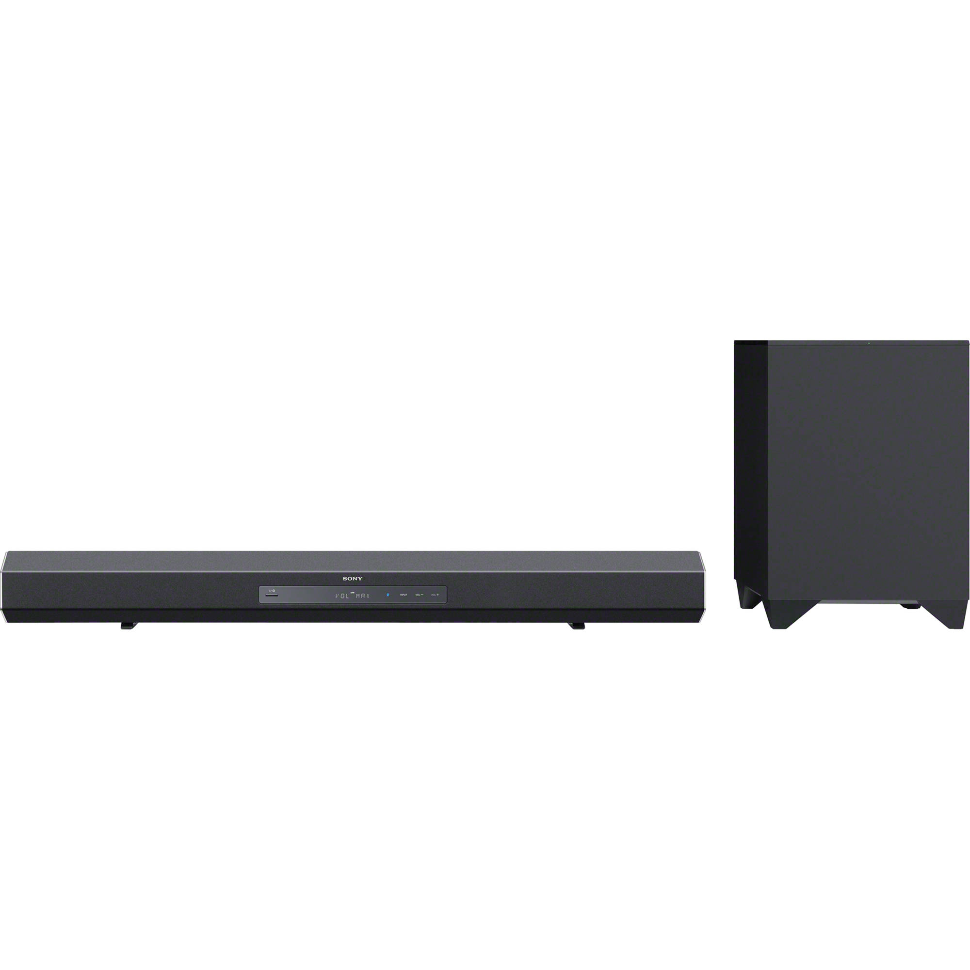 Sony Ht Ct260h Surround Sound Speaker Bar Wireless Subwoofer