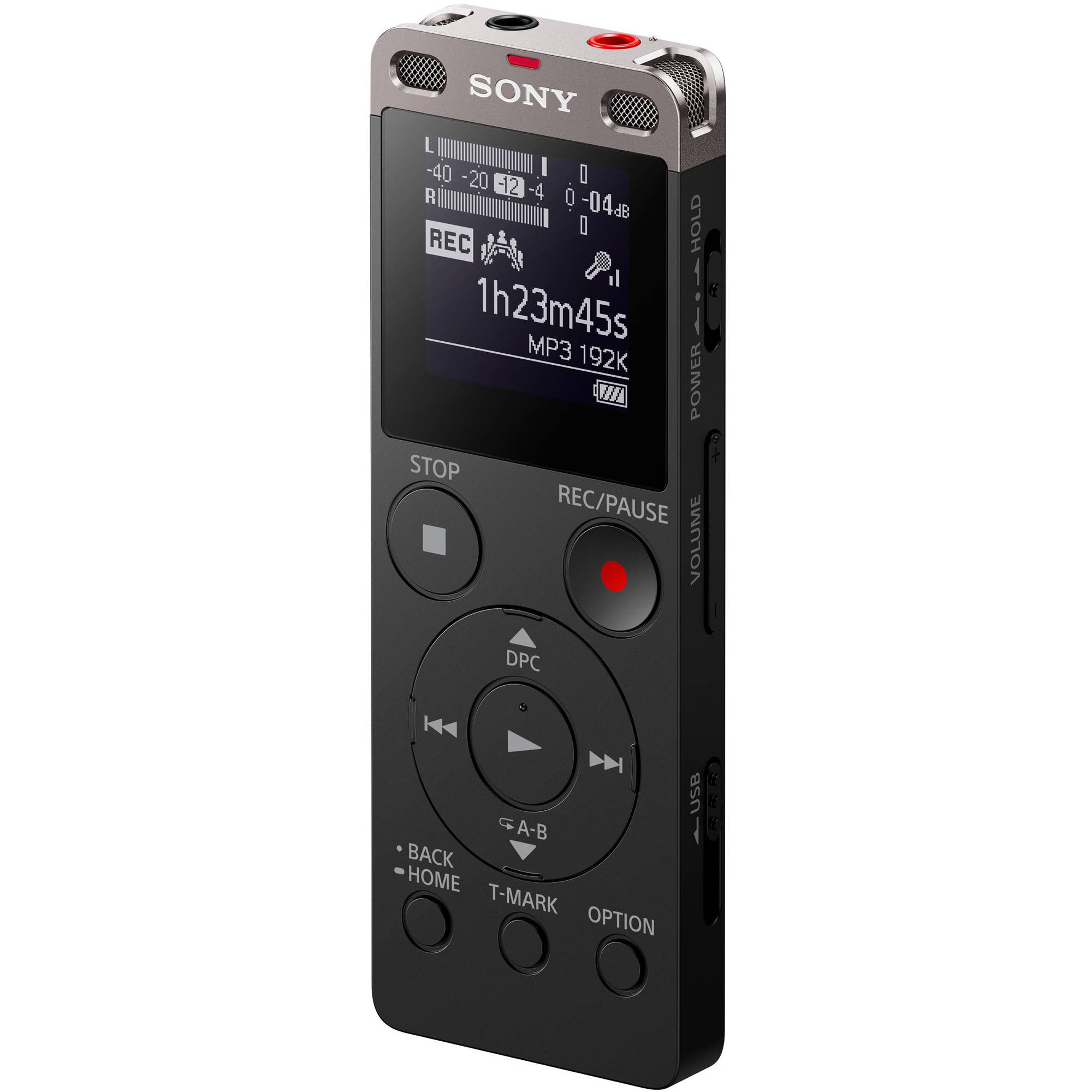 sony icd ux560 digital voice recorder with built in icdux560blk