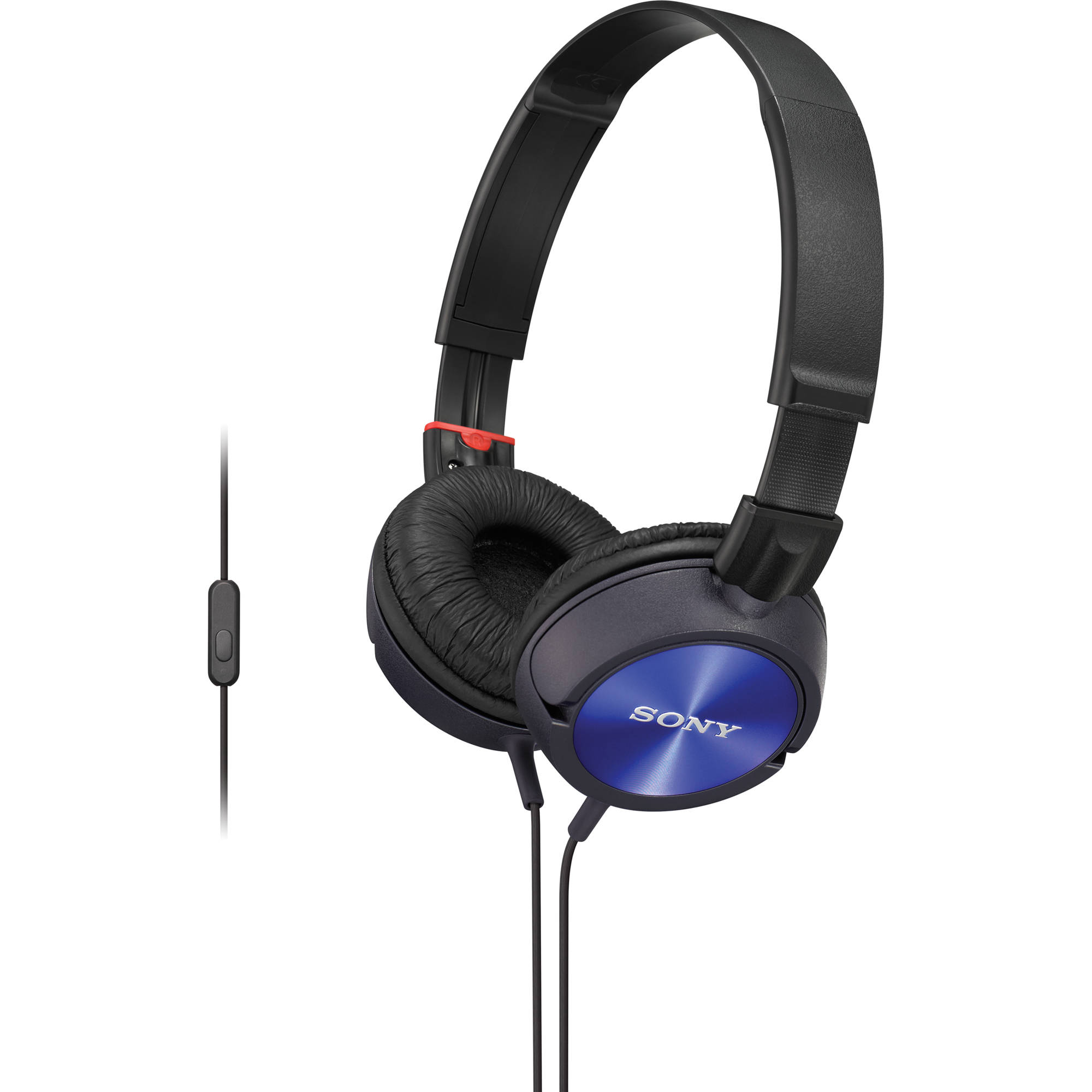 sony mdr zx300ap android stereo headphones blue mdrzx300apl. Black Bedroom Furniture Sets. Home Design Ideas