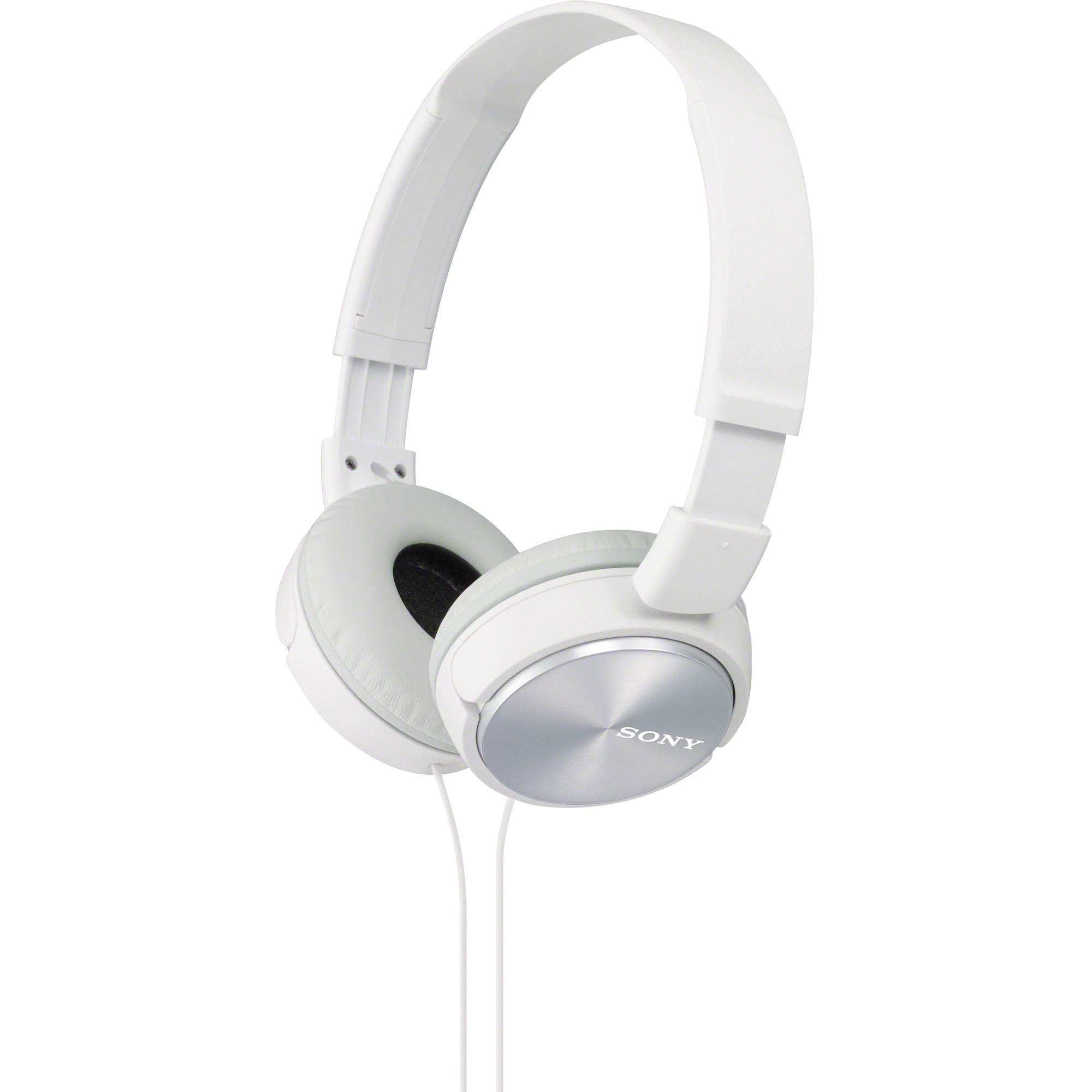 Sony Mdr Zx310 On Ear Headphones White Mdrzx310wh B Amp H Photo