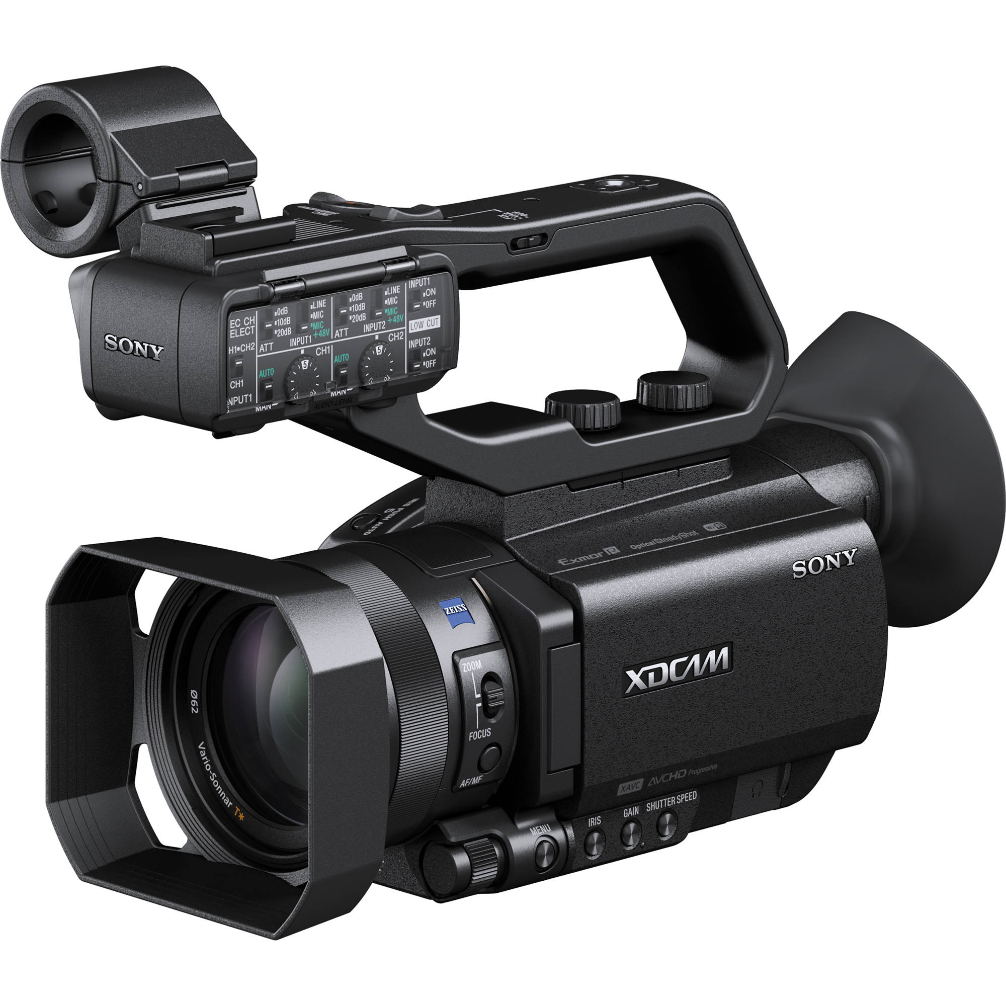 sony pxw x70 professional xdcam compact camcorder pxw x70 b h rh bhphotovideo com professional video camera buying guide Best HD Digital Video Camera