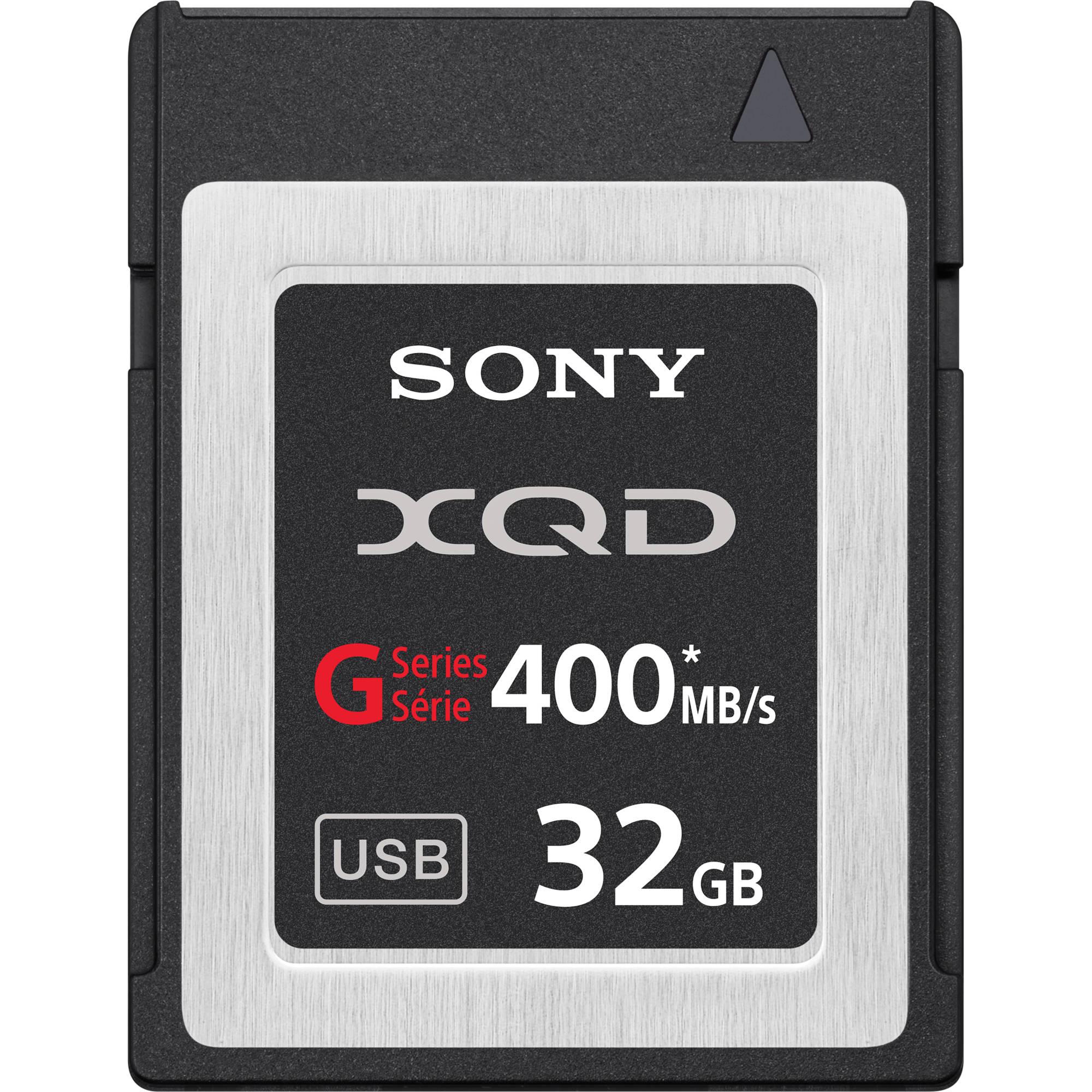 32 gig memory - Sony 32gb G Series Xqd Format Version 2 Memory Card