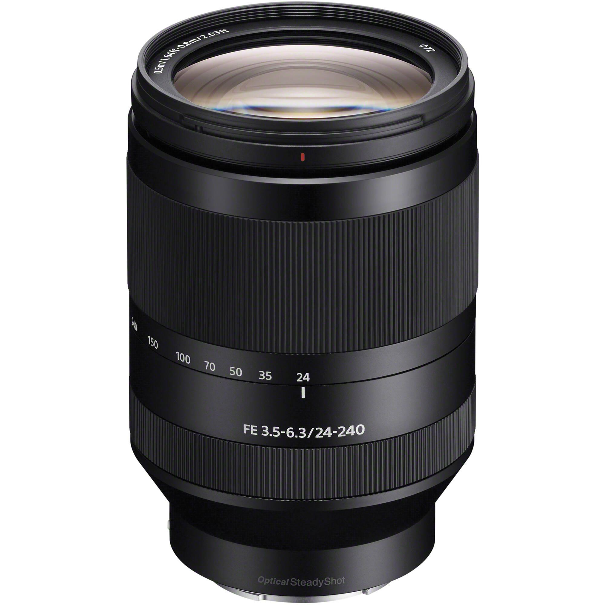 Sony Fe 24 240mm F 3 5 6 3 Oss Lens Sel24240 B Amp H Photo Video