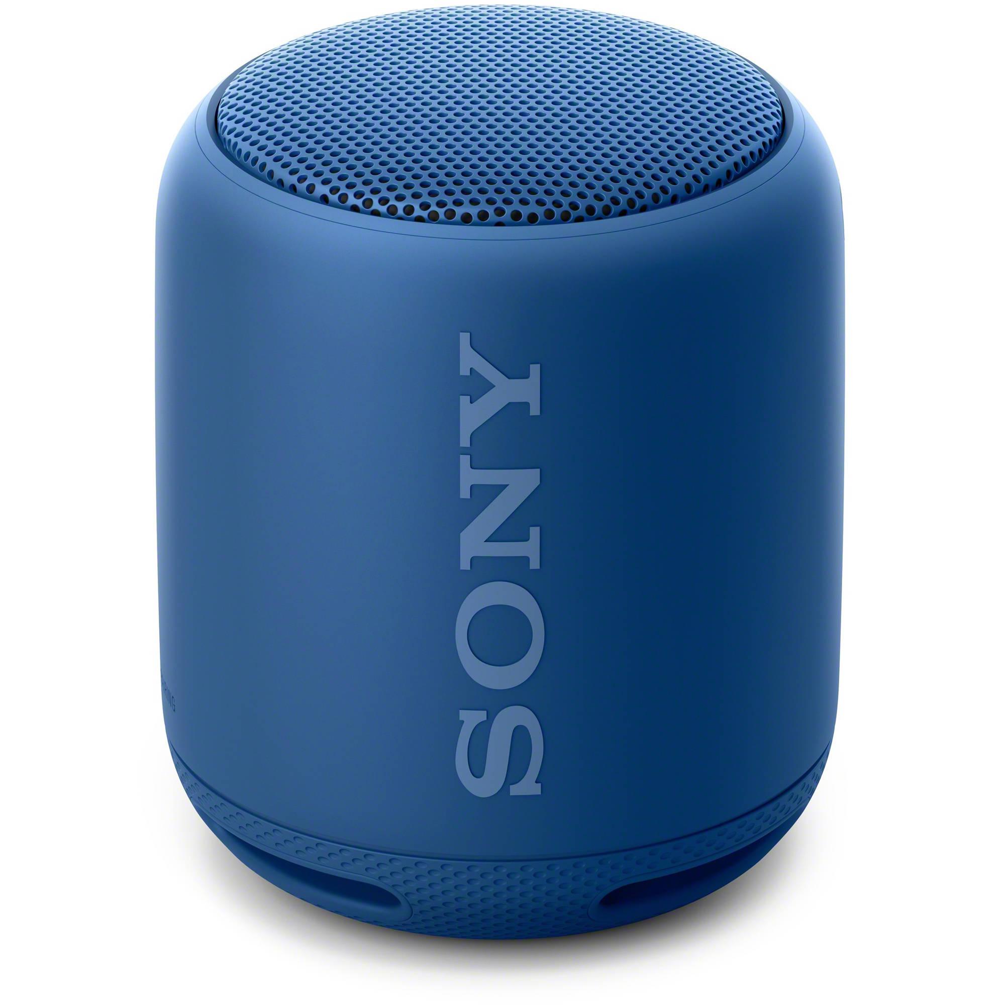sony srs xb10 bluetooth speaker blue srsxb10 blue b h photo