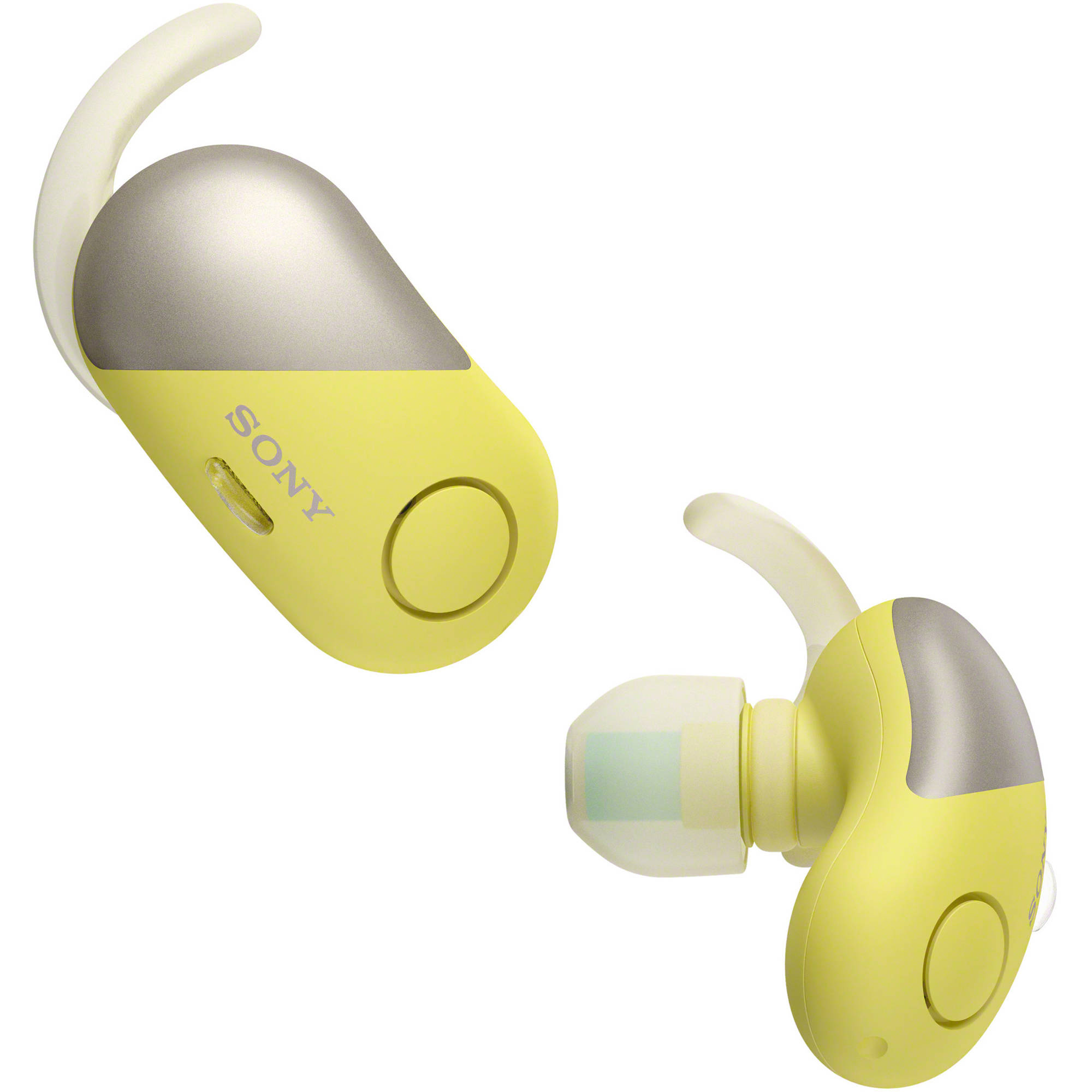 Sony wireless headphones yellow - sony headphones mic