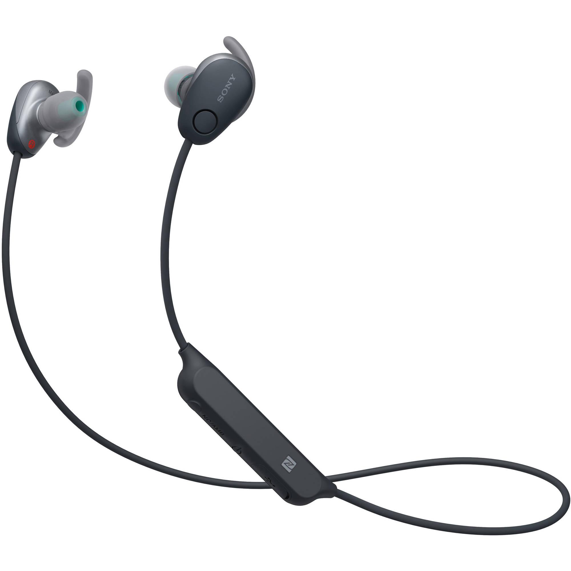 Sony black earphones - earphones deals of the day