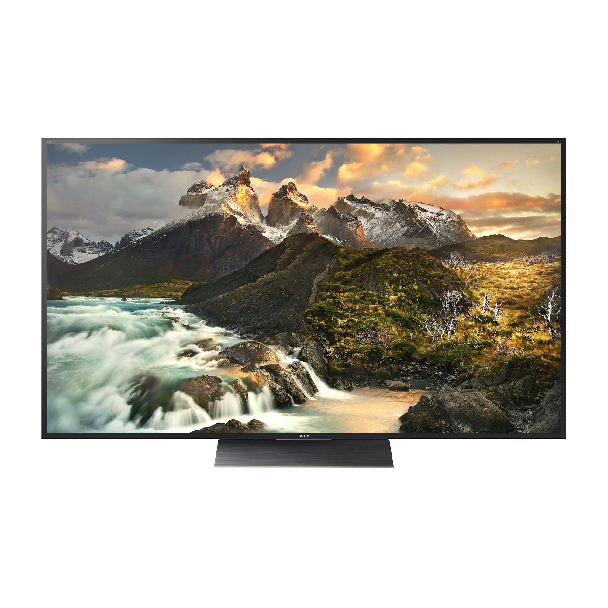 Sony Xbr Z9d Series 100 Class 4k Smart Led Tv 100z9d Remote Lcd