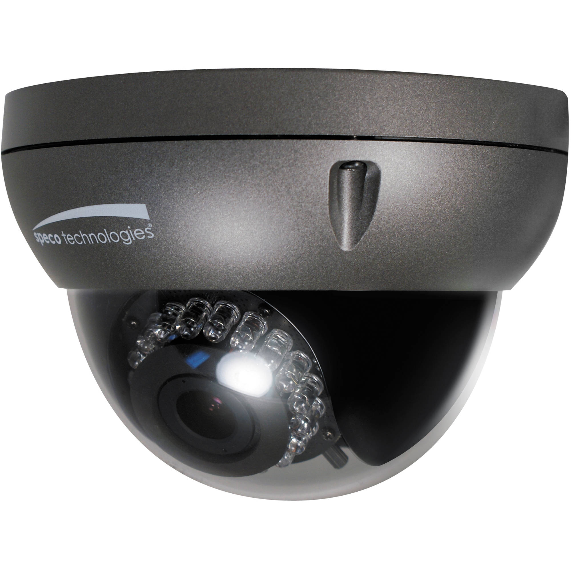 speco technologies o2d4 2mp outdoor network dome camera. Black Bedroom Furniture Sets. Home Design Ideas