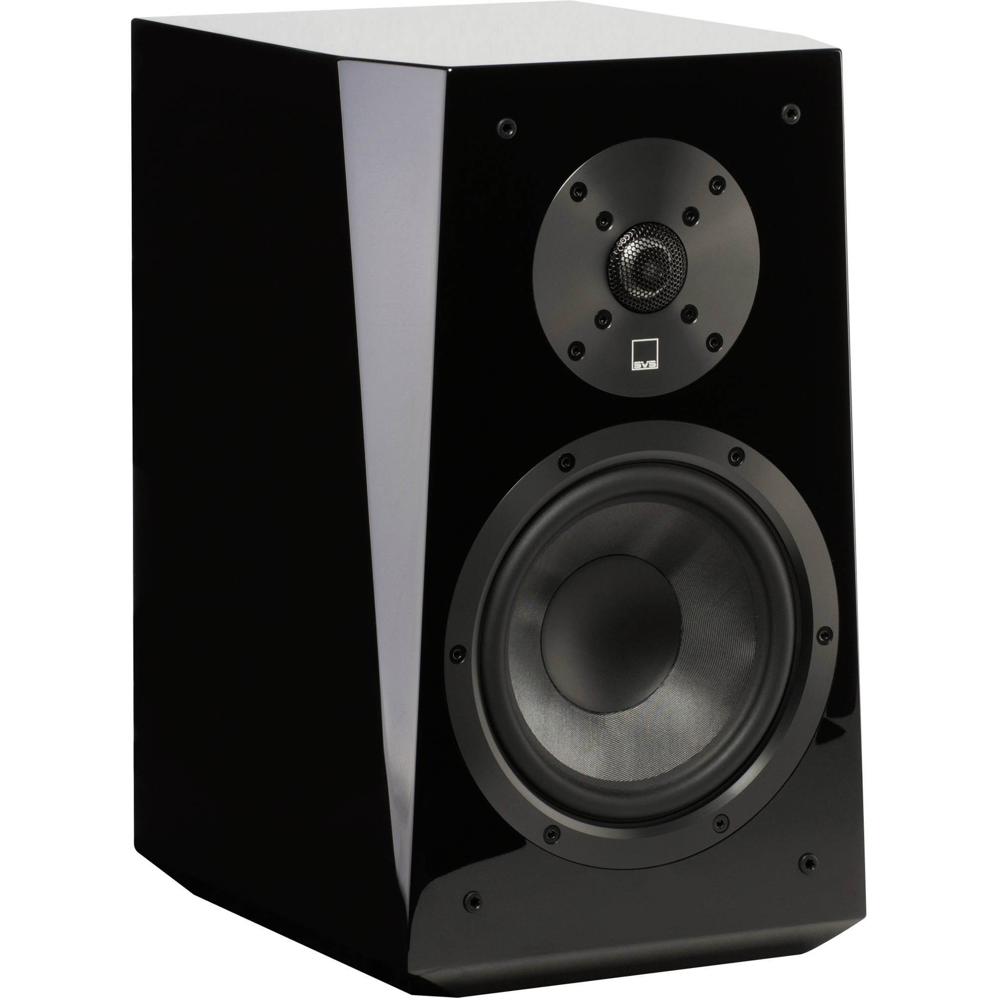 SVS Ultra 2 Way Bookshelf Speakers Pair Piano Gloss Black