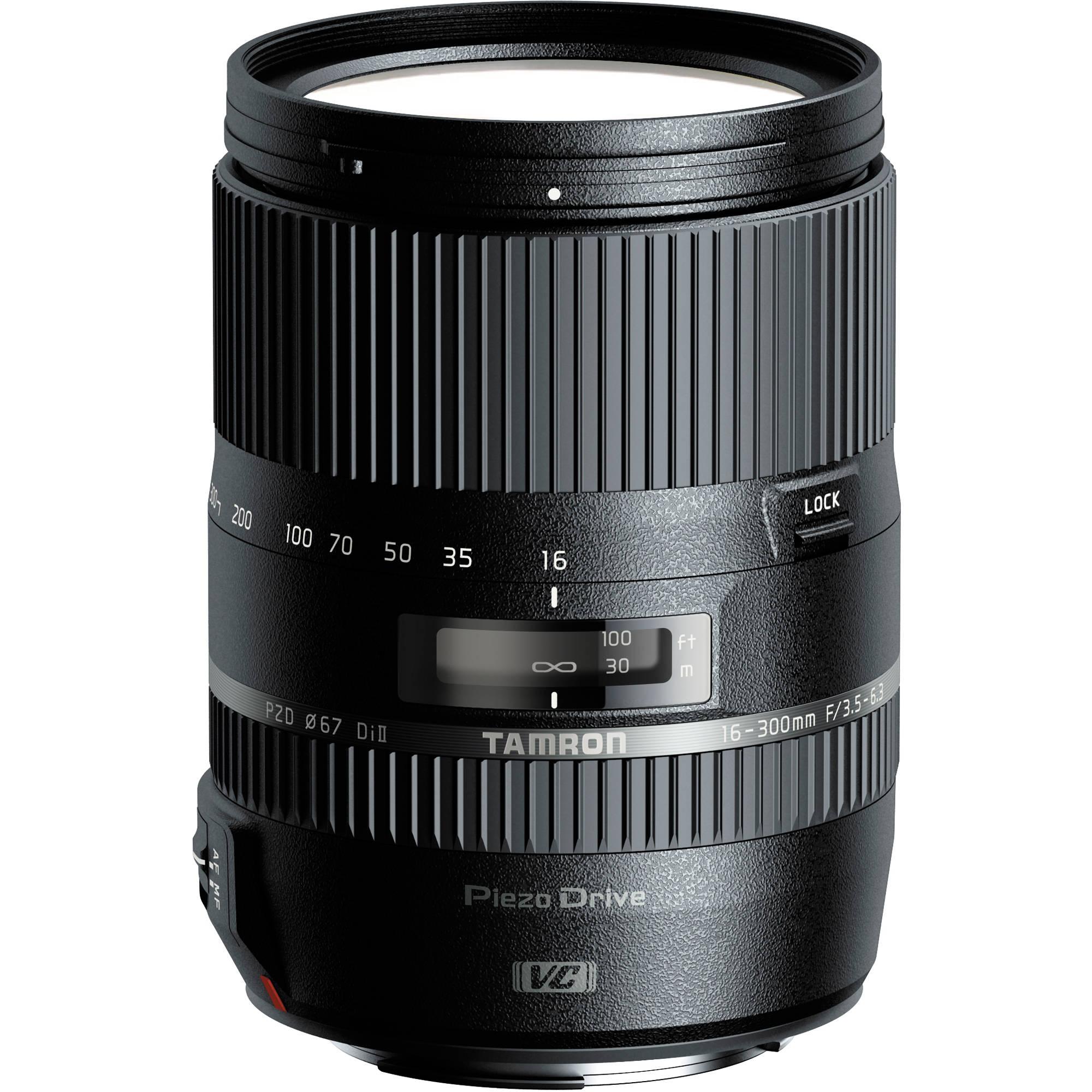 tamron 16 300mm f 3 5 6 3 di ii vc pzd macro lens afb016n 7001. Black Bedroom Furniture Sets. Home Design Ideas