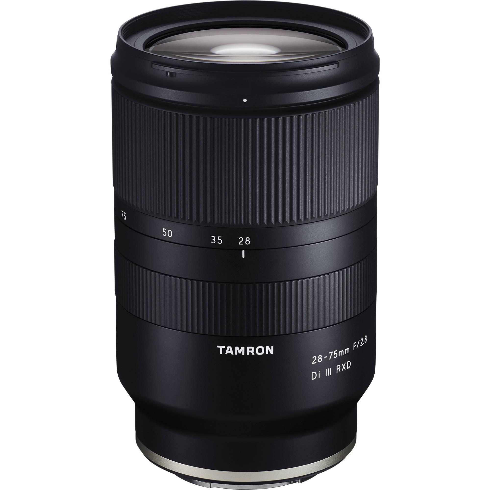 8990184747 Tamron 28-75mm f/2.8 Di III RXD Lens for Sony E A036 B&H Photo