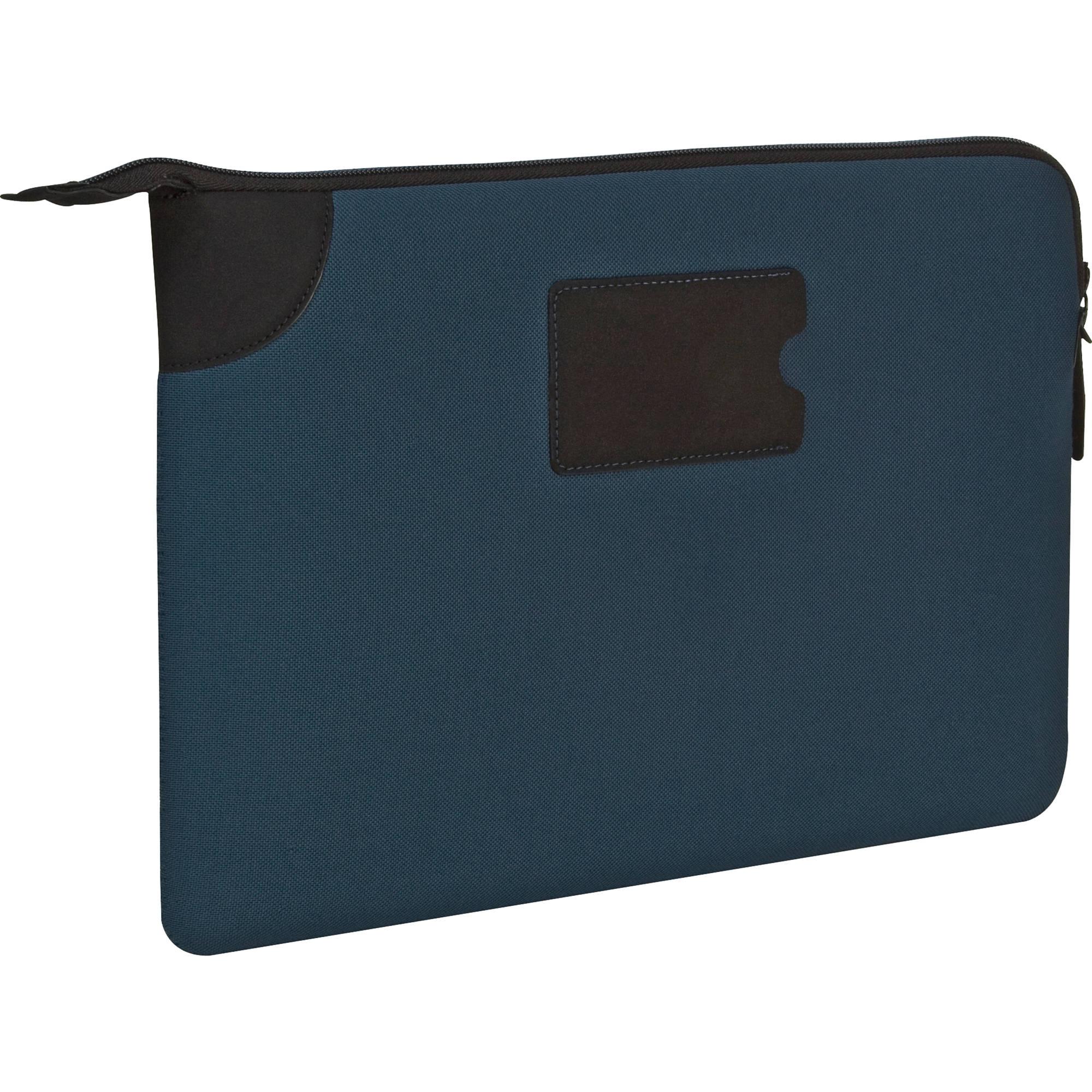 targus 13 banker sleeve for macbook pro blue tss27402us. Black Bedroom Furniture Sets. Home Design Ideas