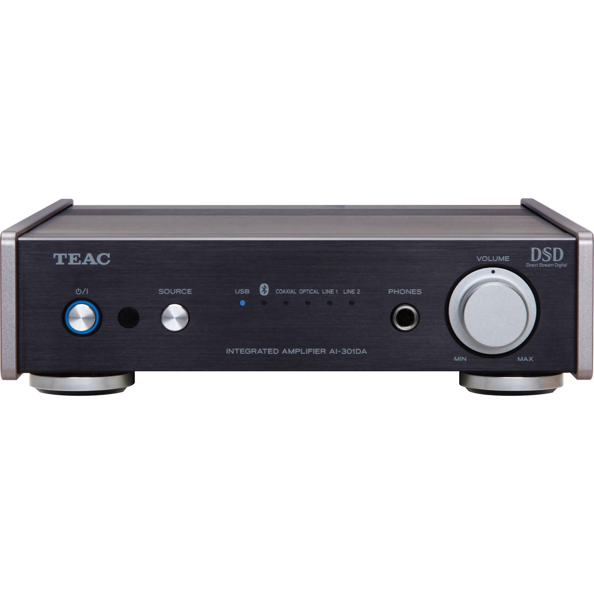 Teac Ai 301da B Pre Main Amplifier With Bluetooth 100mw Stereo Circuit Based Tl082 Usb And