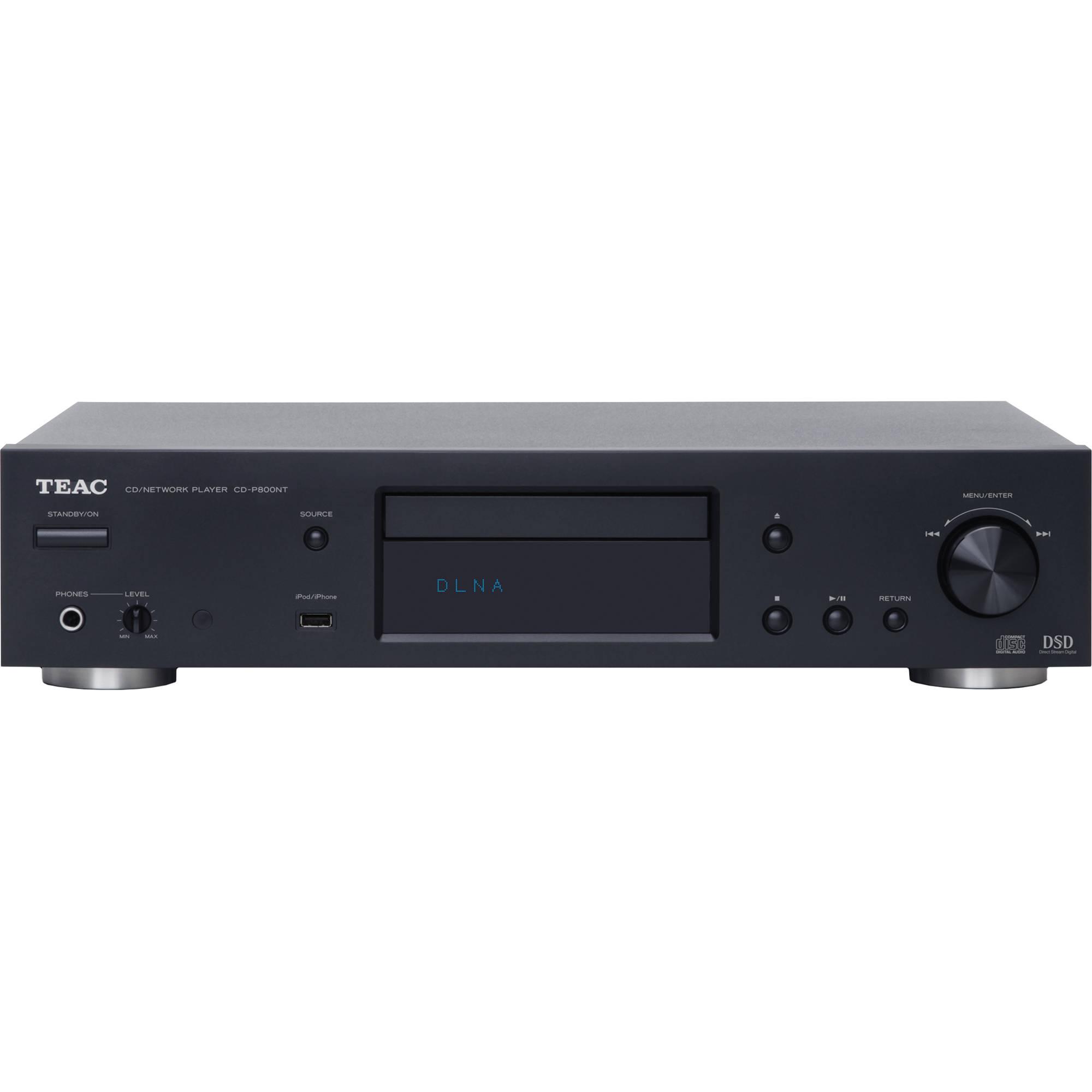 Teac CD-P800NT-B CD/Network Player CD-P800NT-B B&H Photo Video
