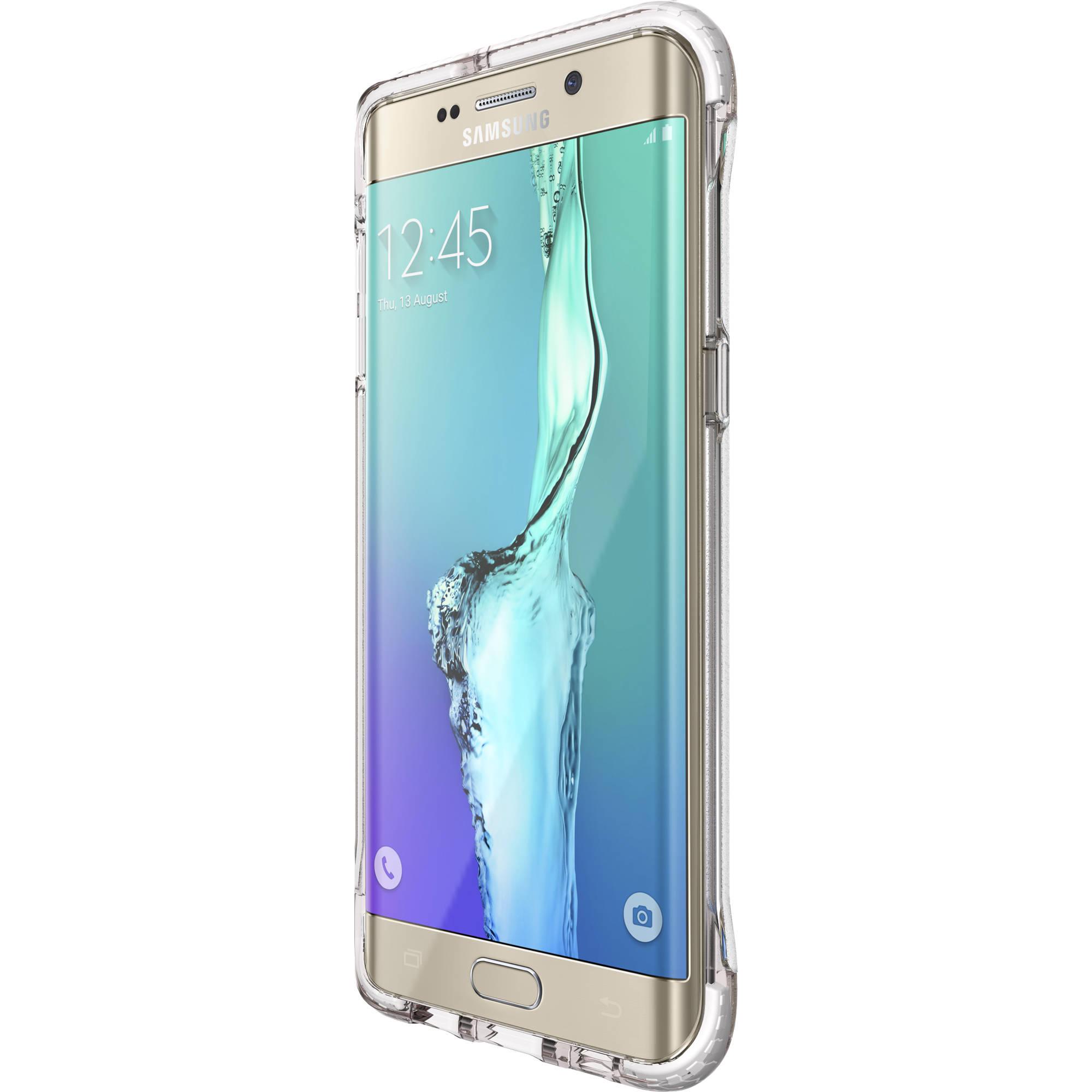 detailing 55db0 fe74a Tech21 Evo Frame Case for Galaxy S6 edge+ (Clear/White) T21-4486
