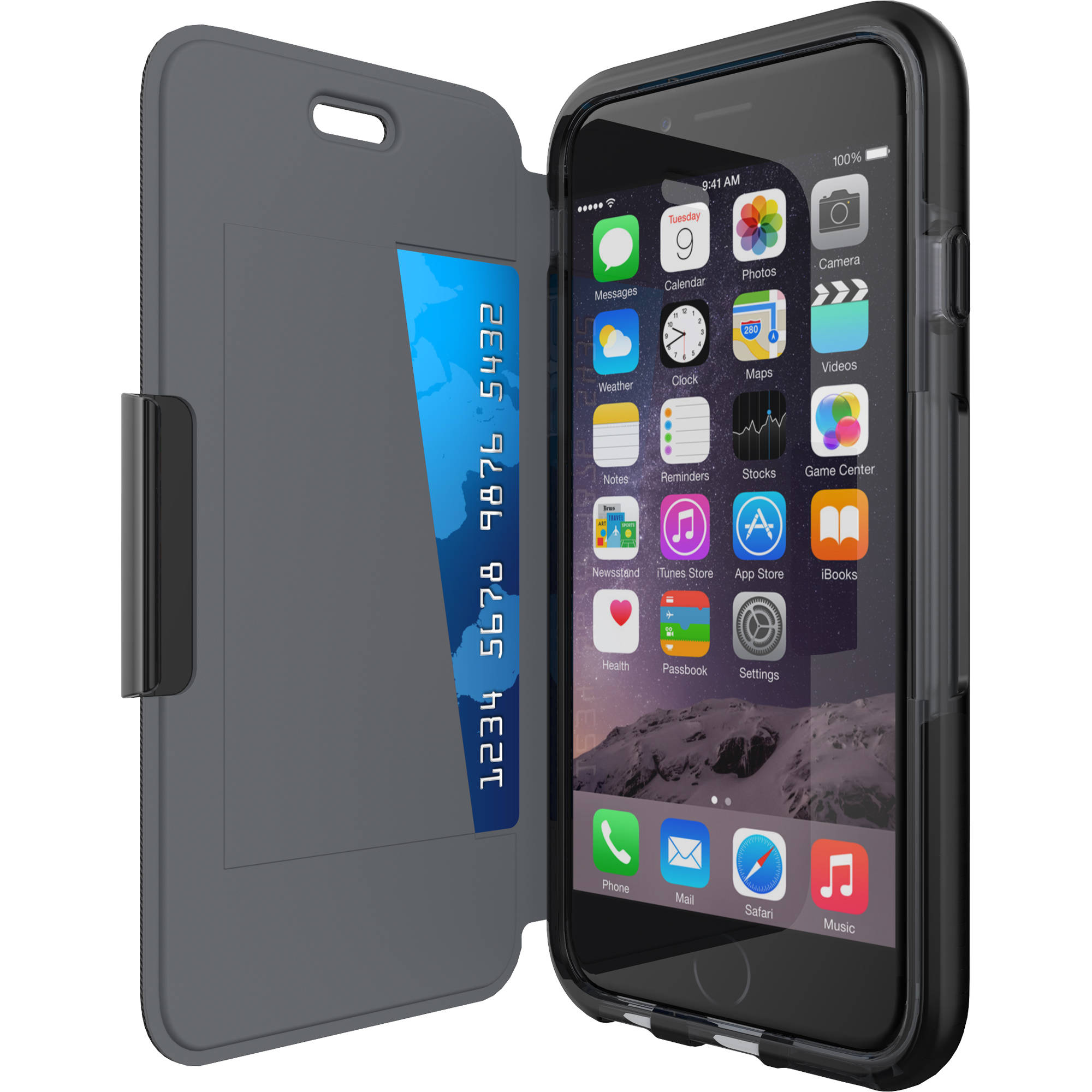 Tech21 Evo Wallet Case For Iphone 6 Black T21 5101 Bh Photo Navy Pro Tools 6g 6p Smartphone Not Included
