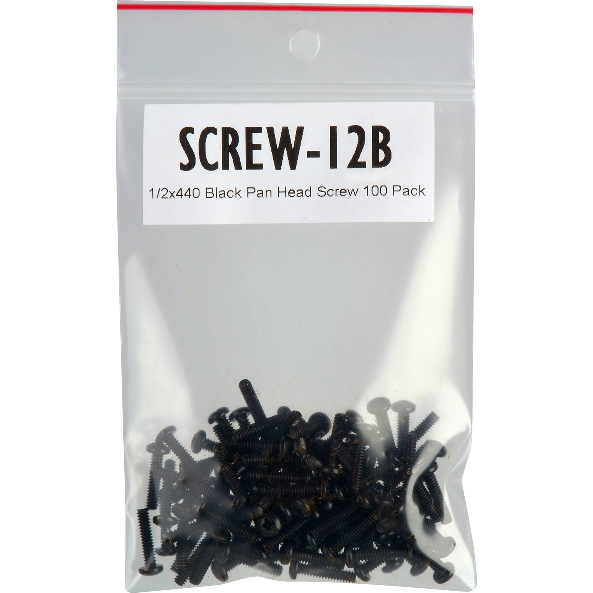 tecnec screw 12b 4 40 x 1 2 pan