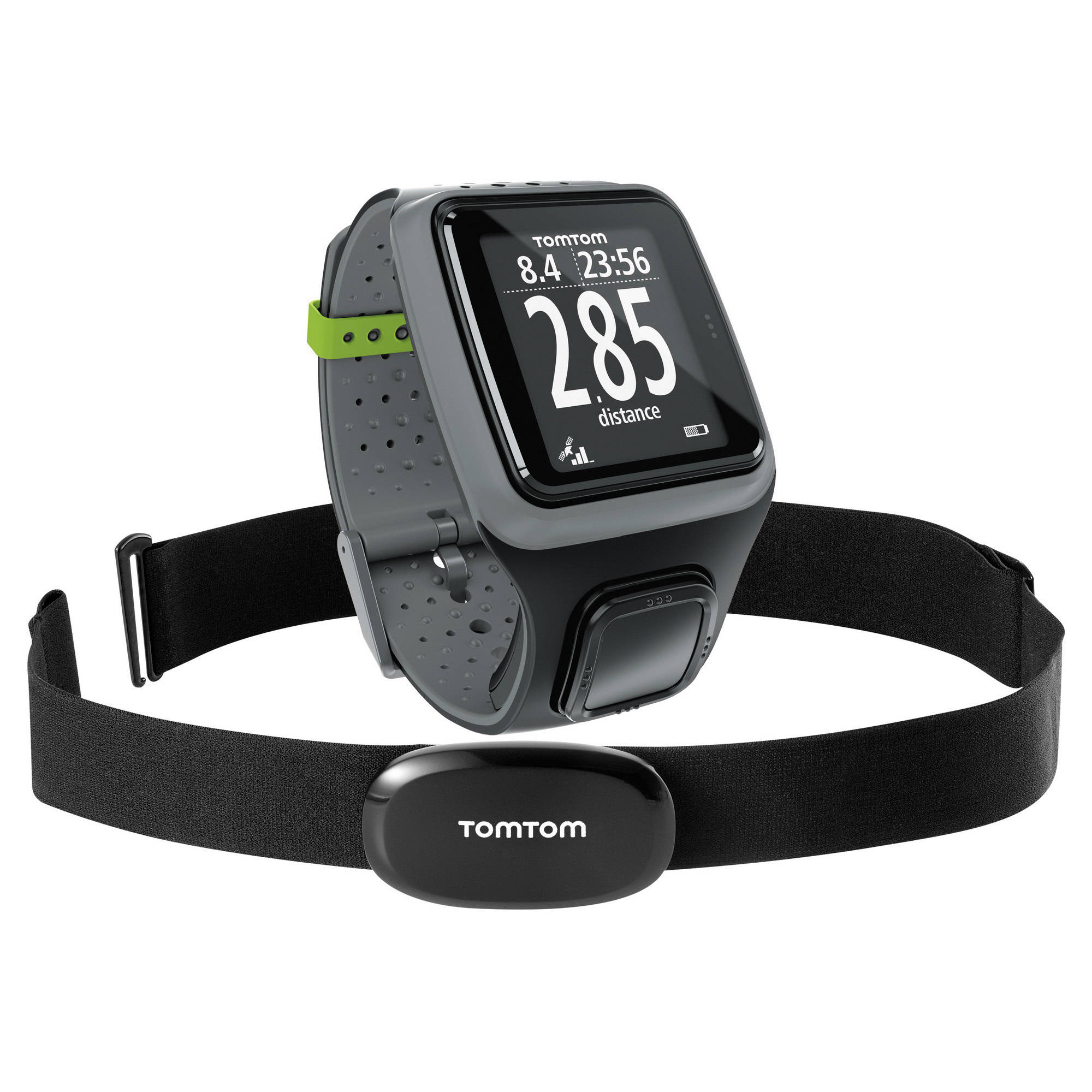 tomtom runner gps sports watch with heart rate b h. Black Bedroom Furniture Sets. Home Design Ideas