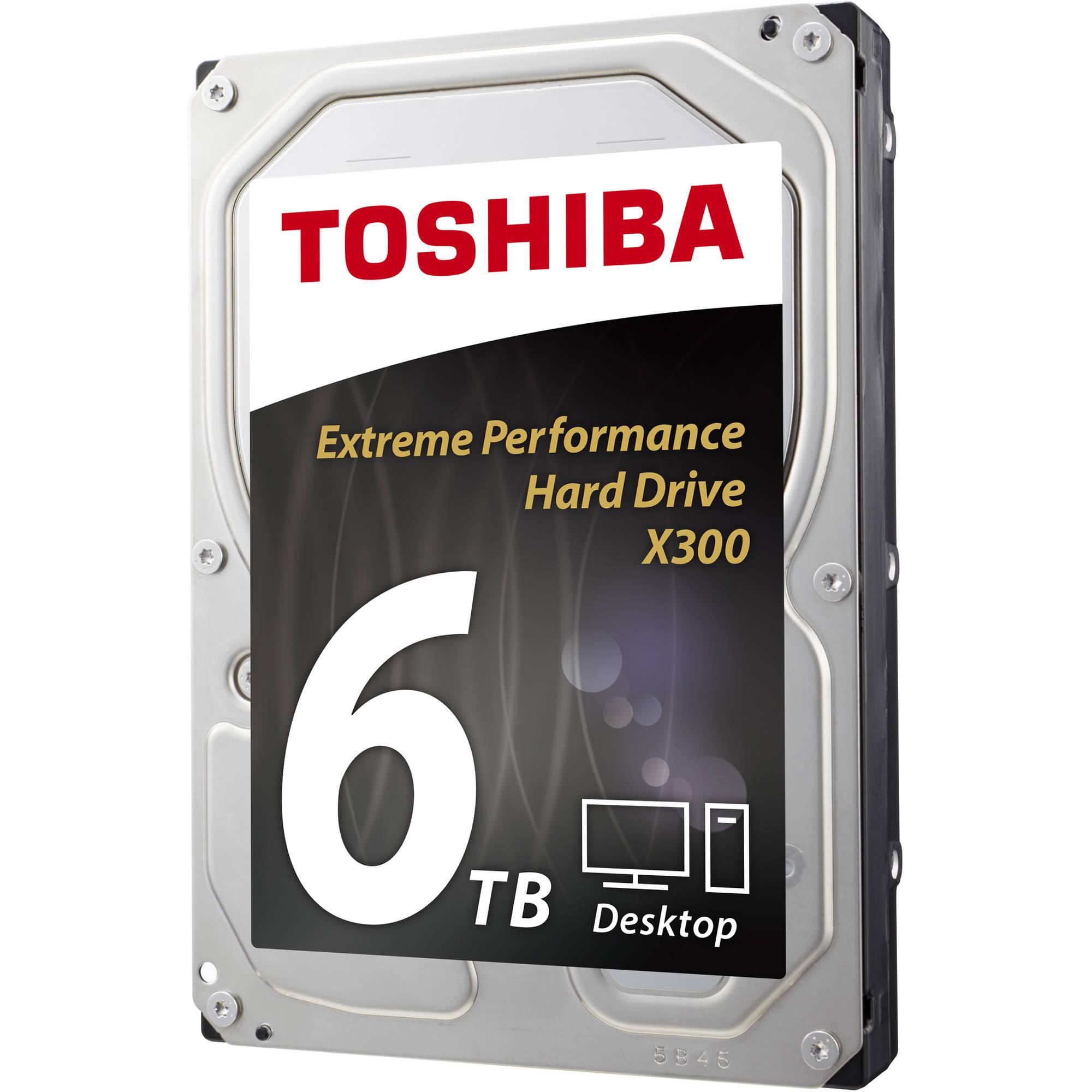 "Toshiba 6TB X300 7200 rpm SATA III 3.5"" HDWE160XZSTA"