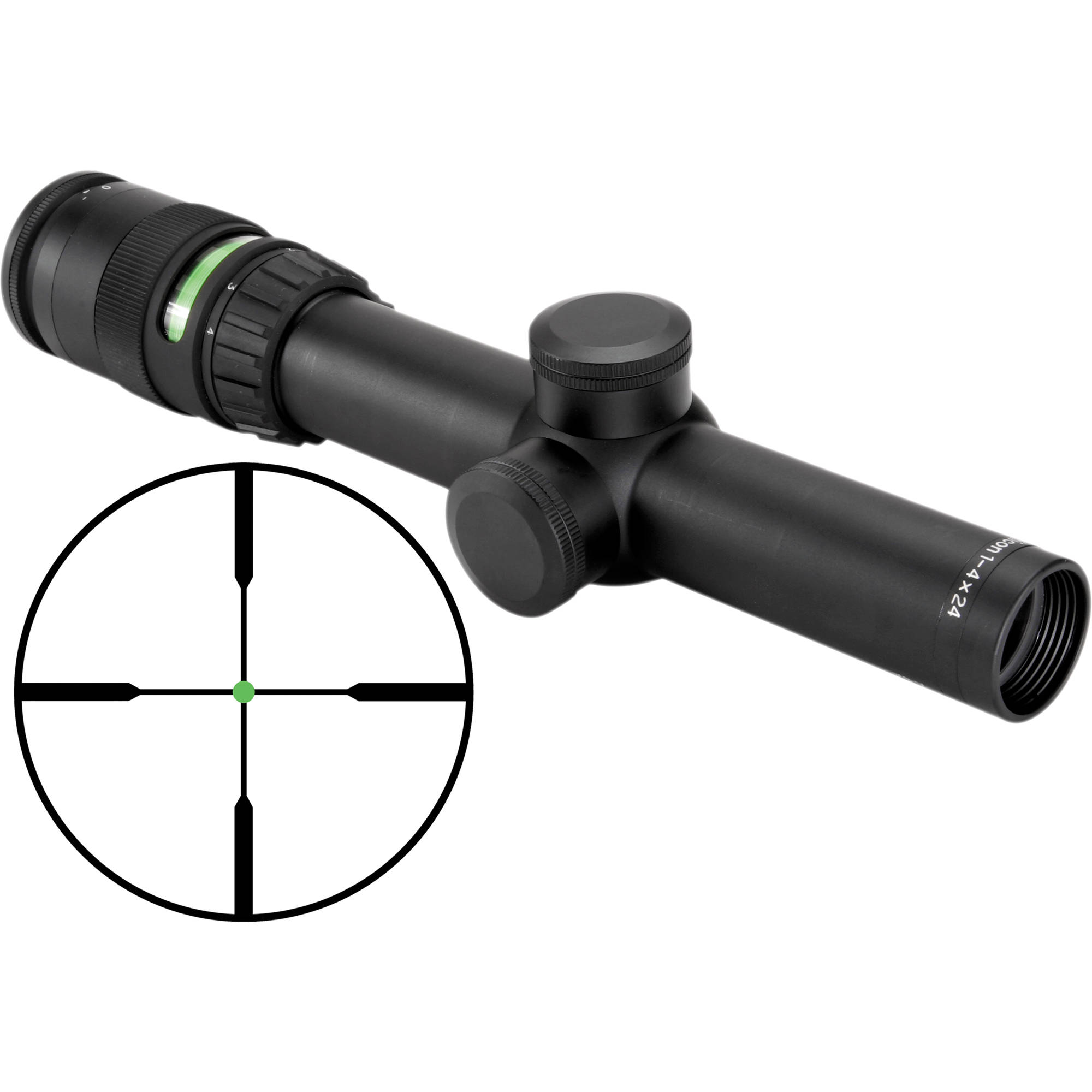 trijicon 1 4x24 accupoint riflescope tr24 c 200071 b h photo