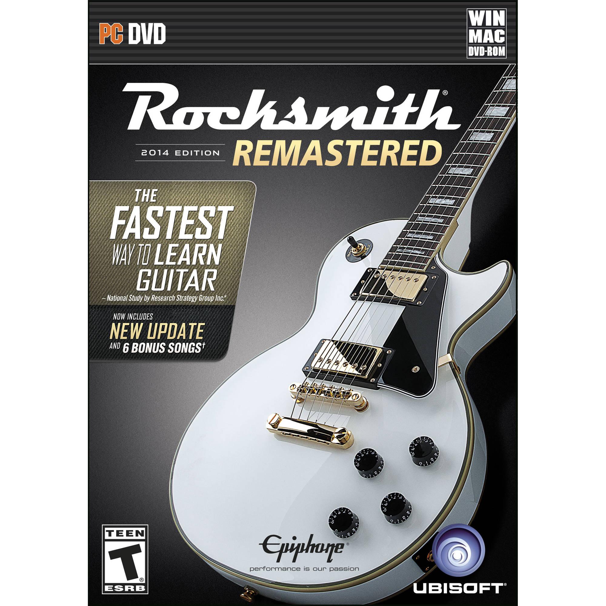 ubisoft rocksmith 2014 edition - remastered (pc) ubp60802053 b&h