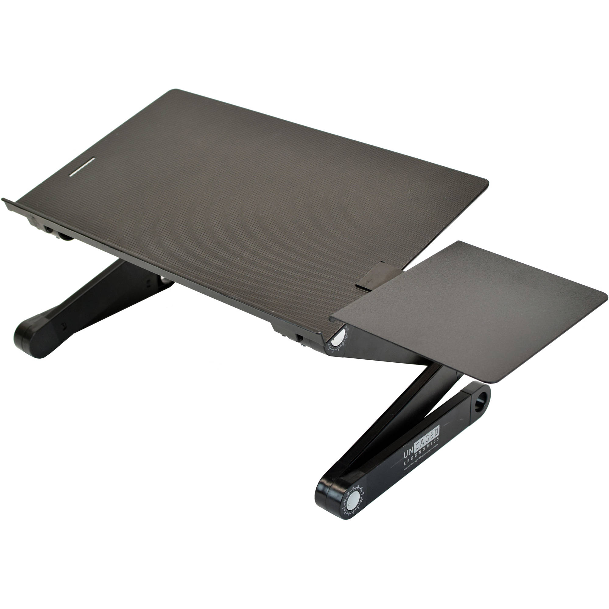Uncaged Ergonomics Workez Best Laptop Stand Lap Desk Webls B B H